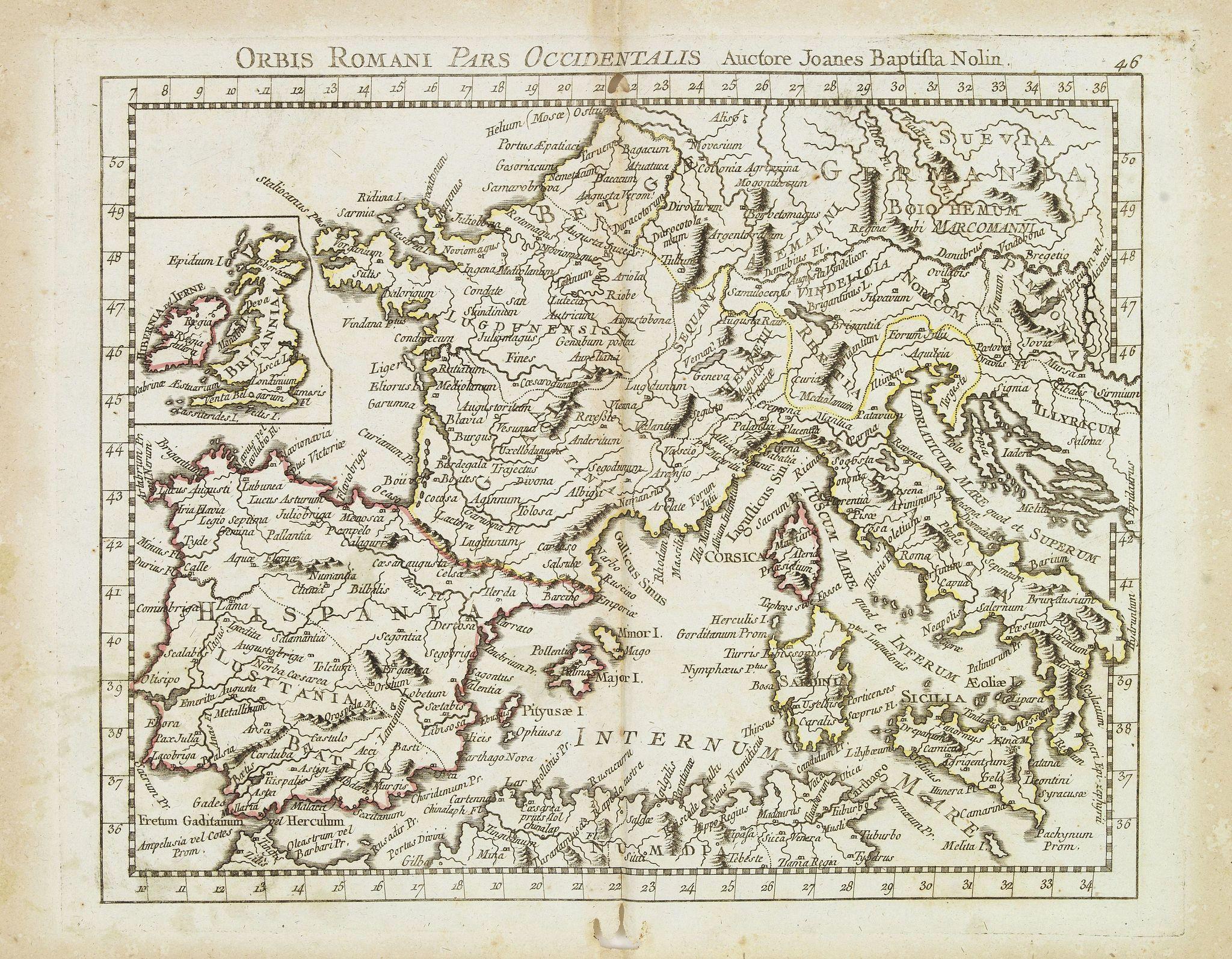 MONDHARE, L.J. / NOLIN, J.B. -  Orbis Romani Pars Ocidentalis. . .
