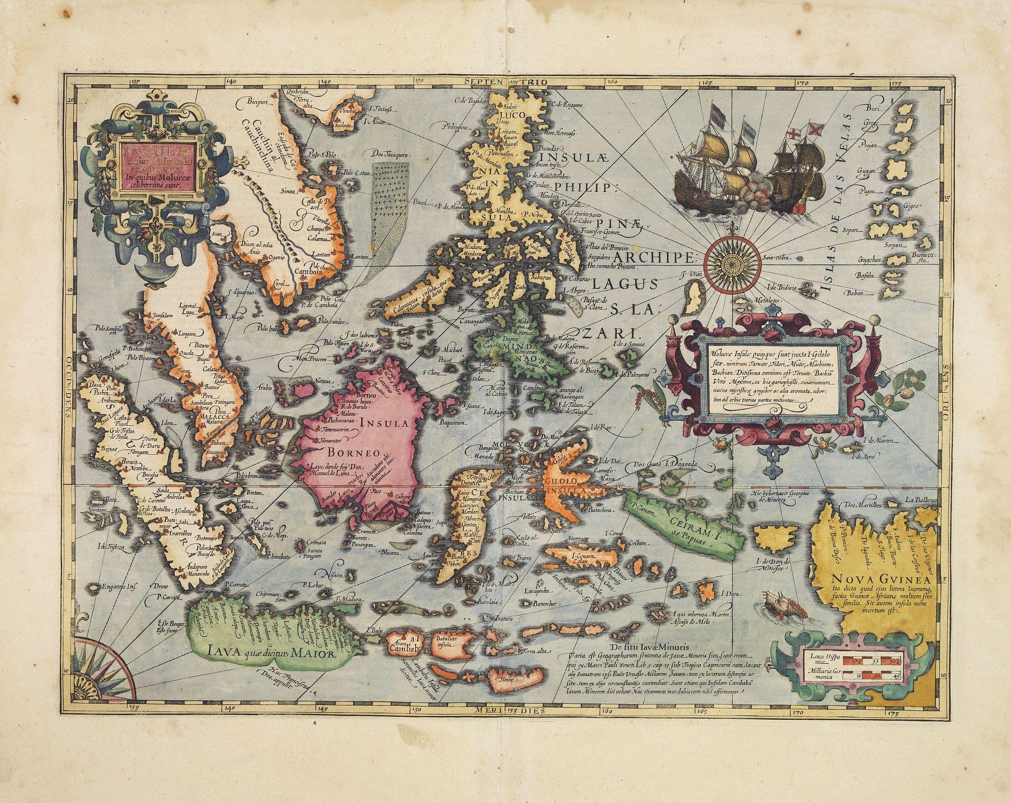MERCATOR, G. / HONDIUS, J. -  Insulae Indiae Orientalis.