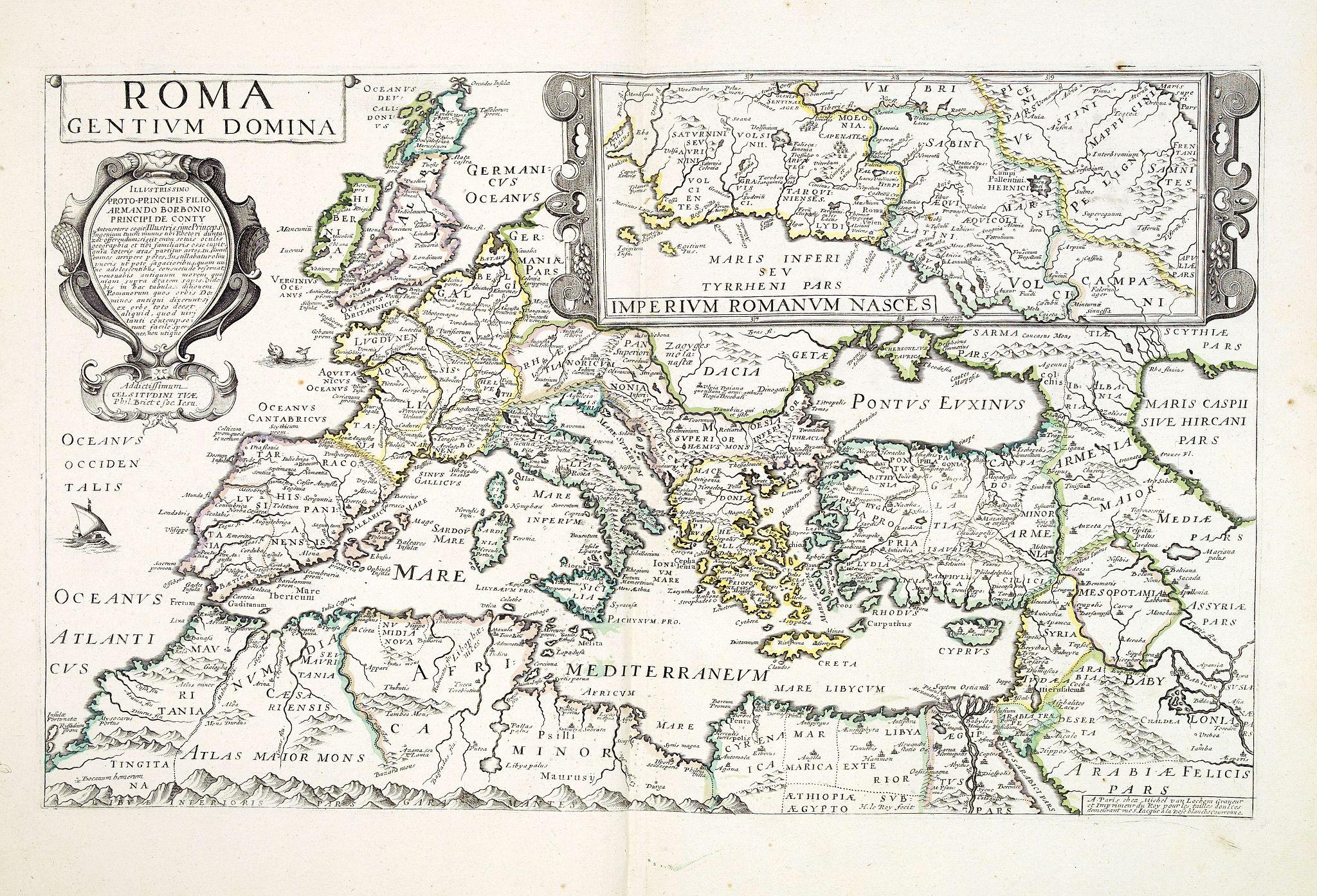 VAN LOCHEM, M. -  Roma dentium Domina.