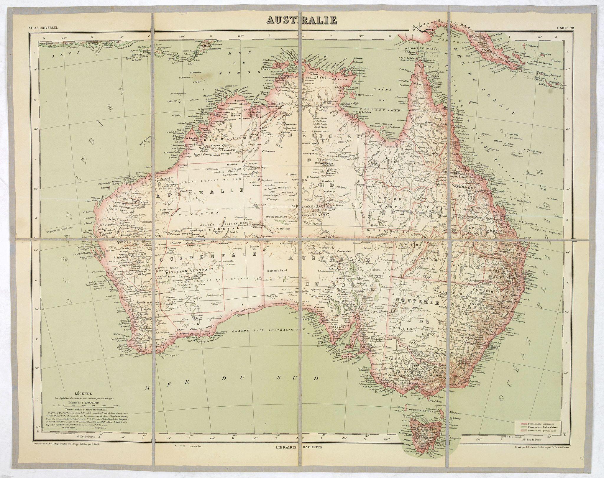 VIVIEN. ST. MARTIN, L. -  AUSTRALIE