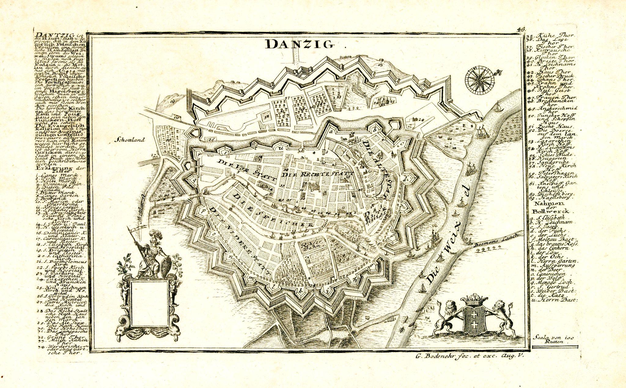 BODENEHR, G. -  Danzig.