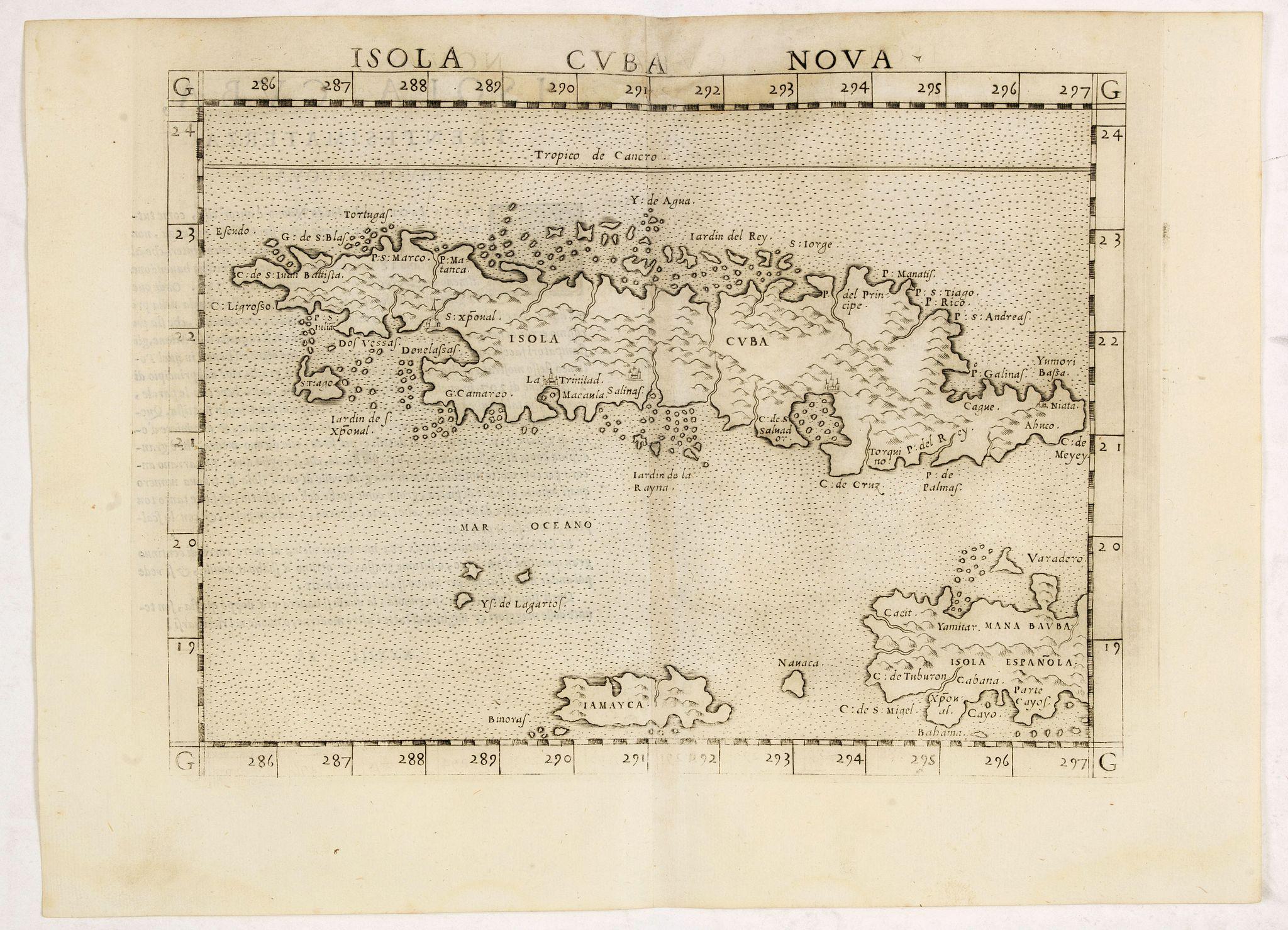 RUSCELLI, G. -  Isola Cuba Nova.