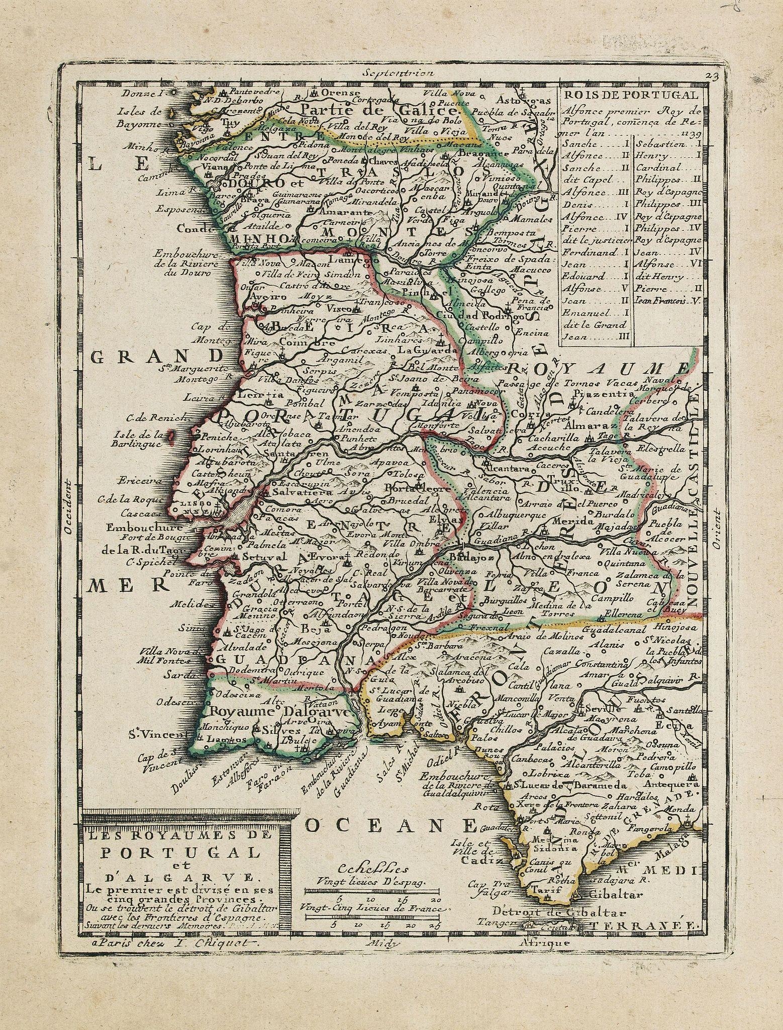 CHIQUET, J. -  Les Royaumes de Portugal et d'Algarve. . .