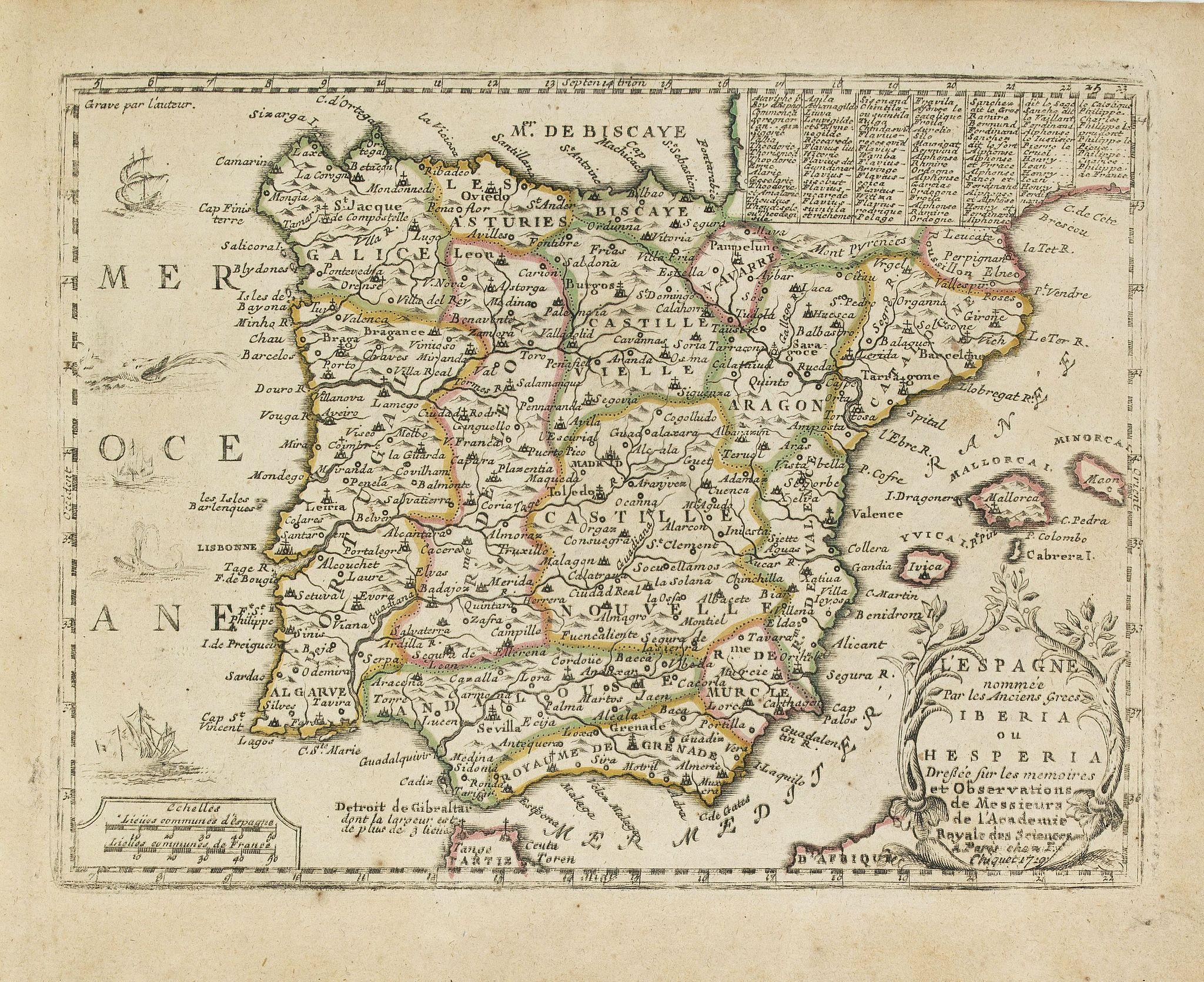 CHIQUET, J. -  L'Espagne nominée Par les Anciens Grecs Iberia ou Hesperia. . .