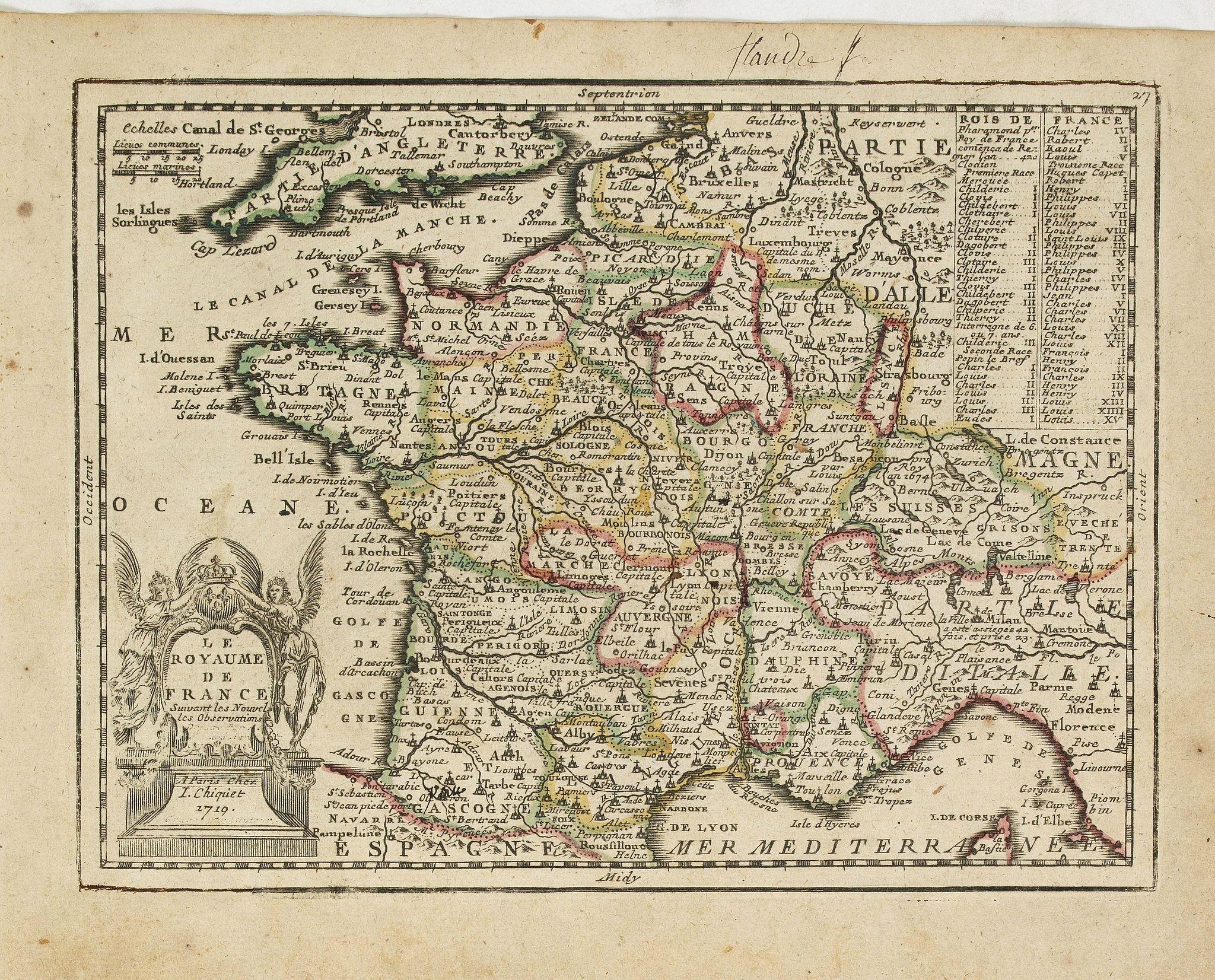 CHIQUET, J. -  Le Royaume de France..
