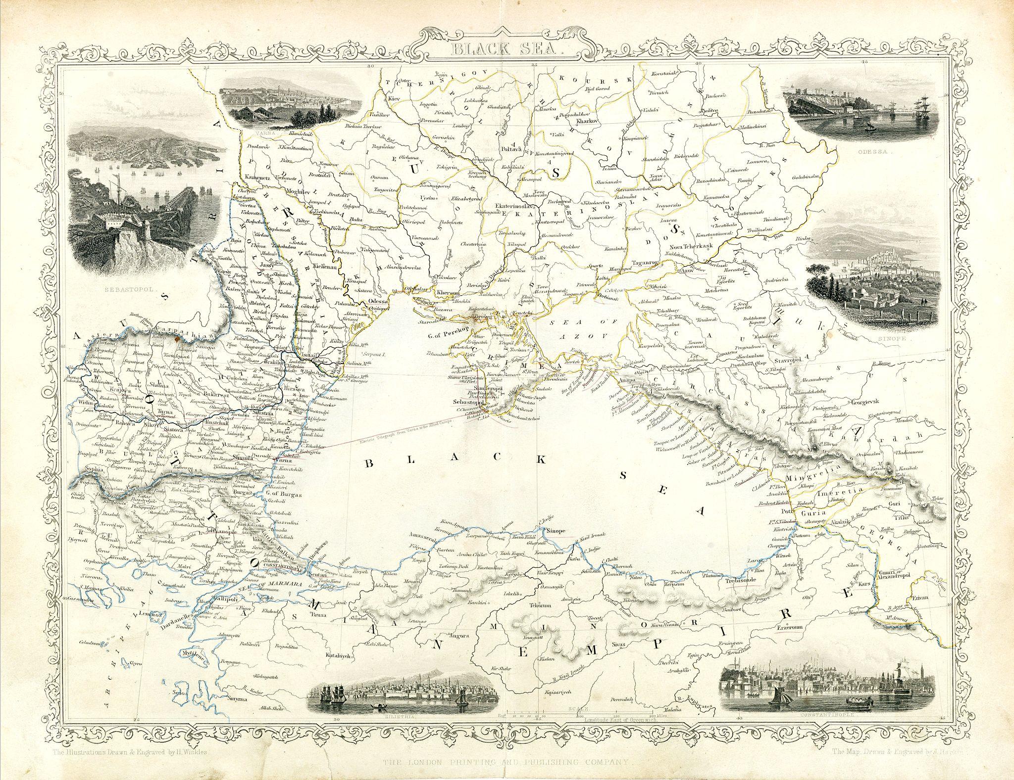 TALLIS, J. -  Black Sea.