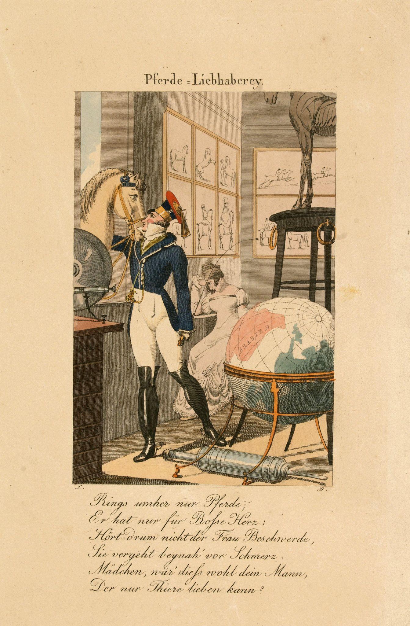 STÖBER, J. -  Pferde Liebhaberey.