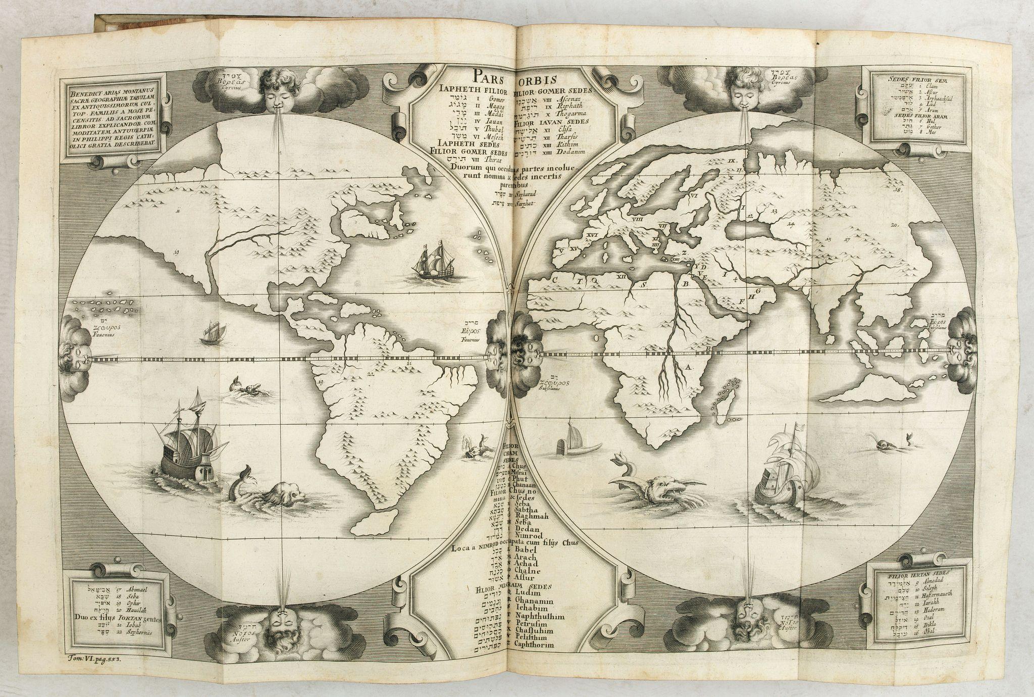 ARIAS MONTANUS, B. -  Tractatorum biblicorum hoc est variarum in diversas materias biblicas commentationum… Tomus VI.
