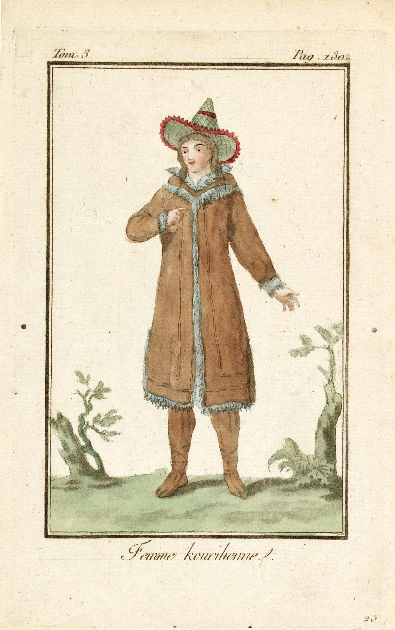 GRASSET DE SAINT SAUVEUR, J. -  Femme Kourilienne.