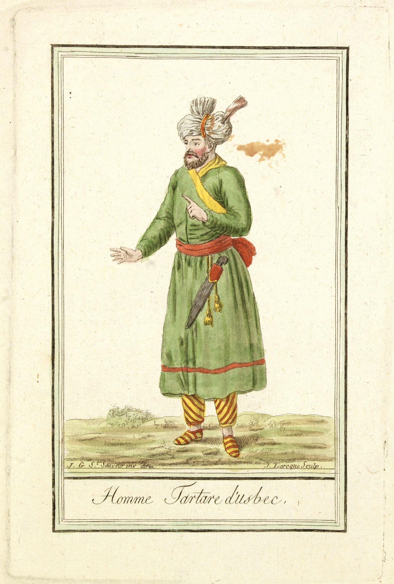 GRASSET DE SAINT SAUVEUR, J. -  Homme Tartare d'Usbec.