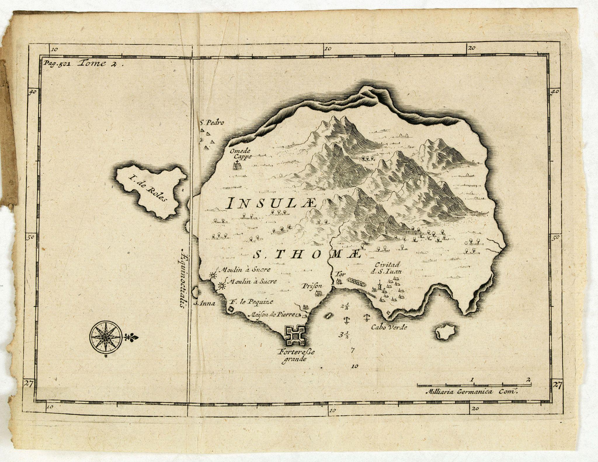 DE RENNEVILLE, R.A.C. -  Insulae S. Thomae.