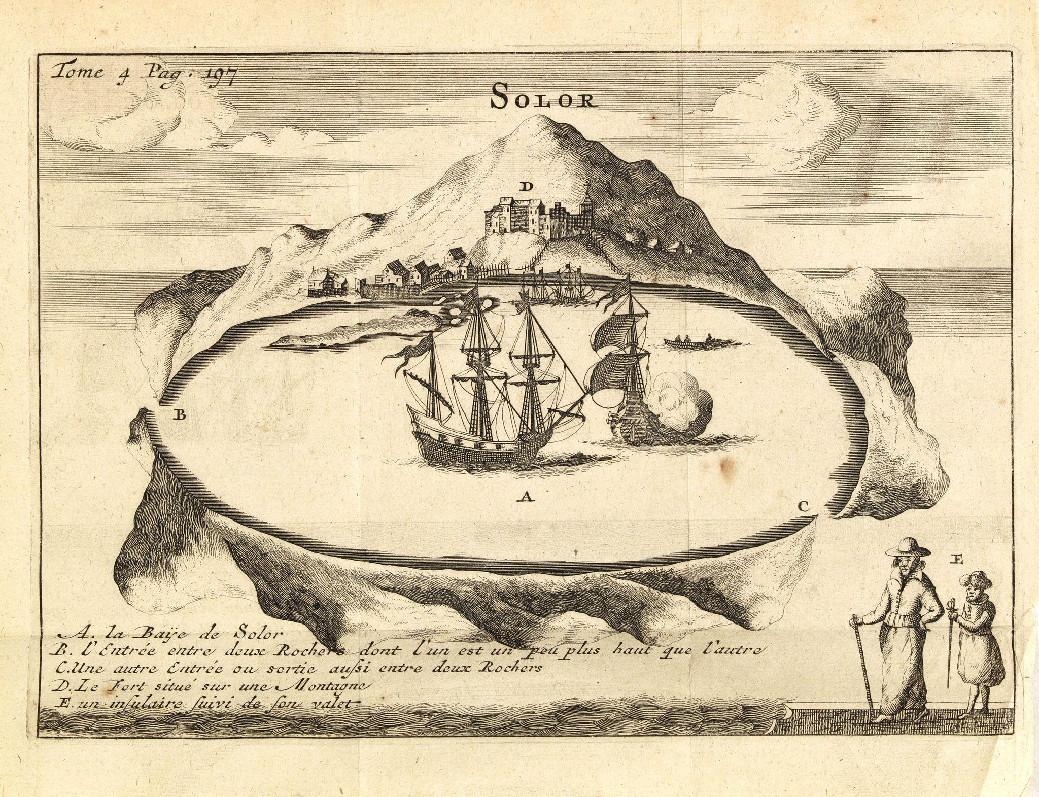 DE RENNEVILLE, R.A.C. -  Solor / A la Baye de Solor.