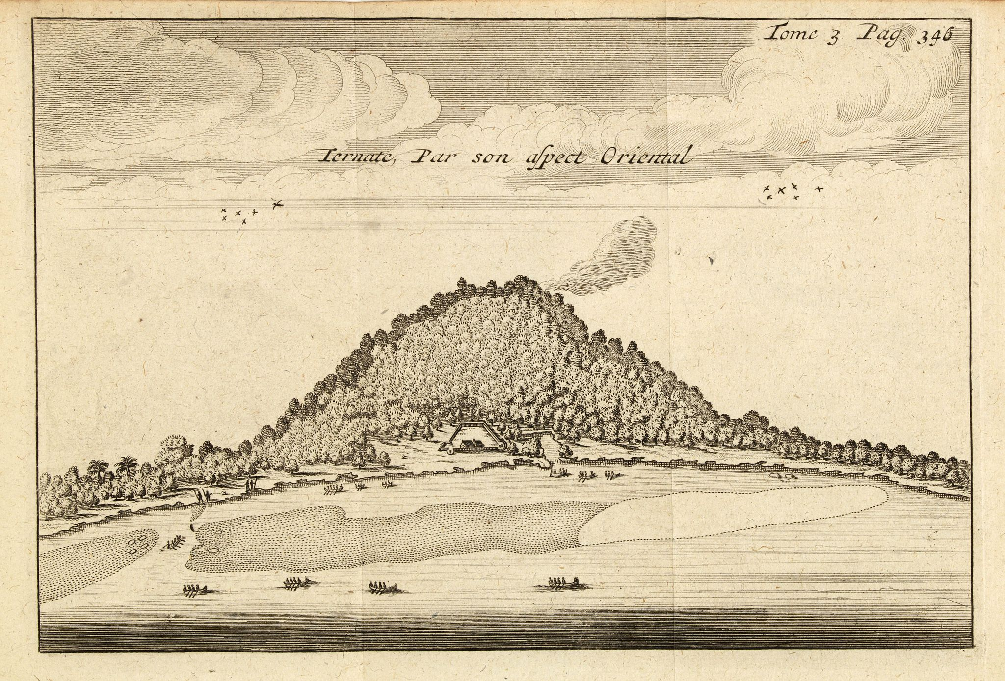 DE RENNEVILLE, R.A.C. -  Ternate, par son aspect oriental.