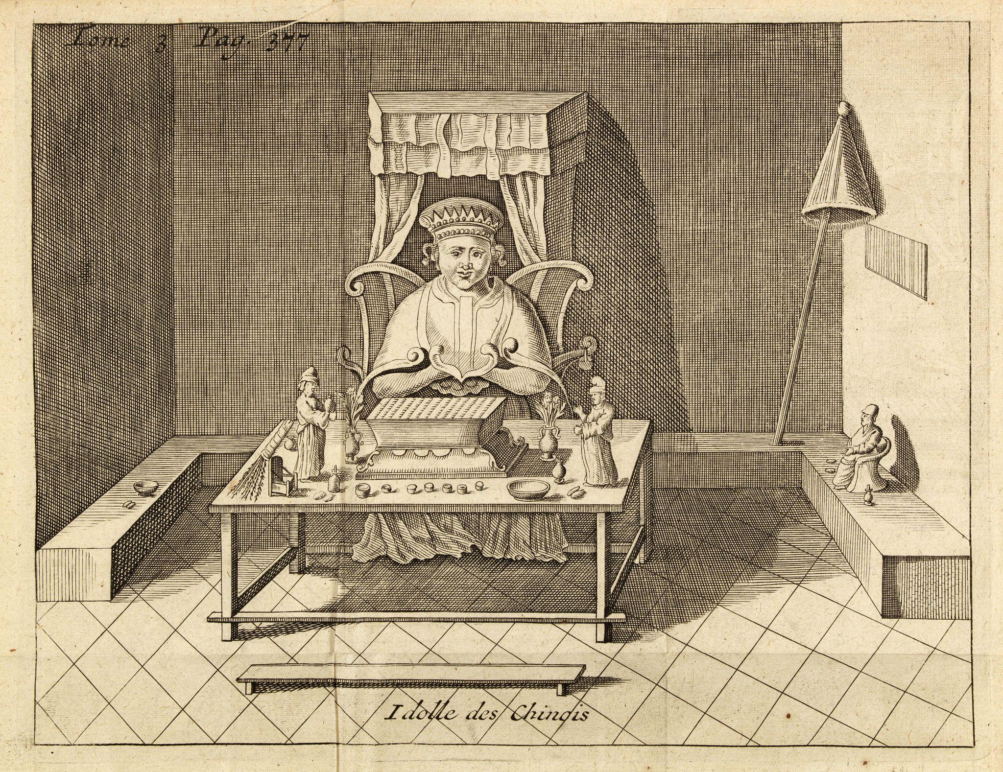 RENNEVILLE De, C. -  Idolle des Chinois.