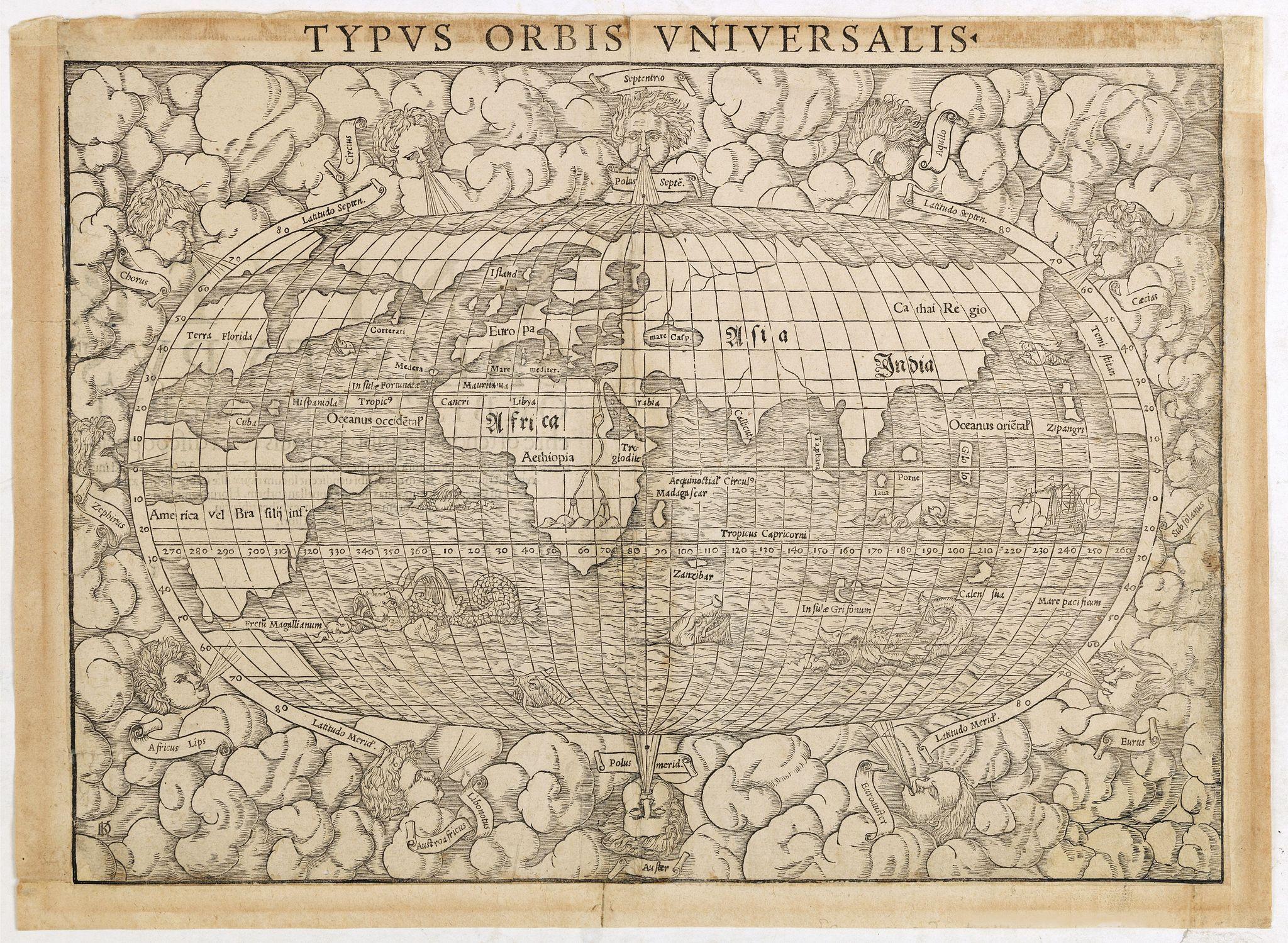 MUNSTER, S. -  Typus Orbis Universalis.