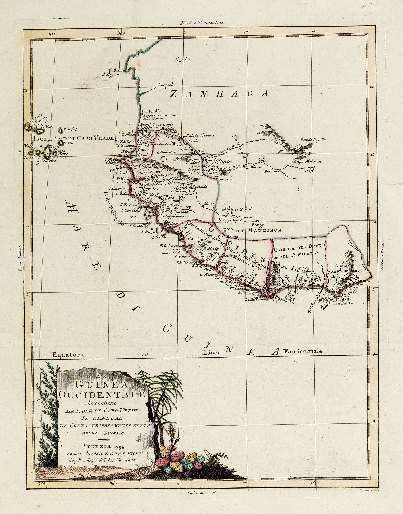 ZATTA, A. -  La Guinea Occidentale…
