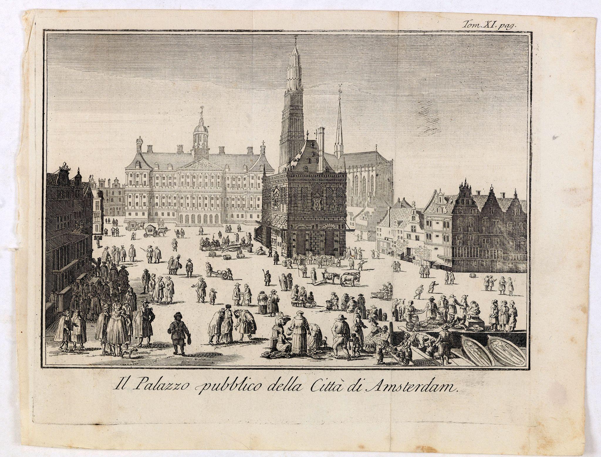 ALBRIZZI, G. -  Il Palazzo pubblico della Citta di Amsterdam.