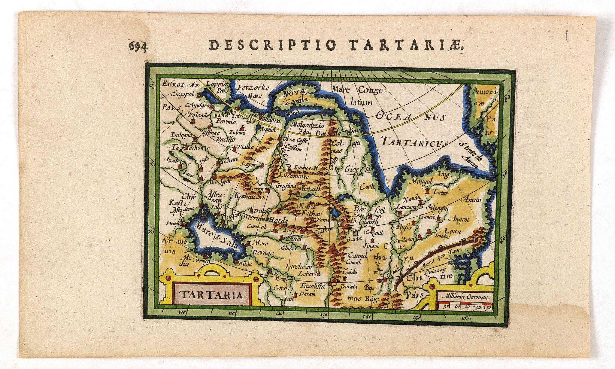 BERTIUS, P. -  Tartaria.