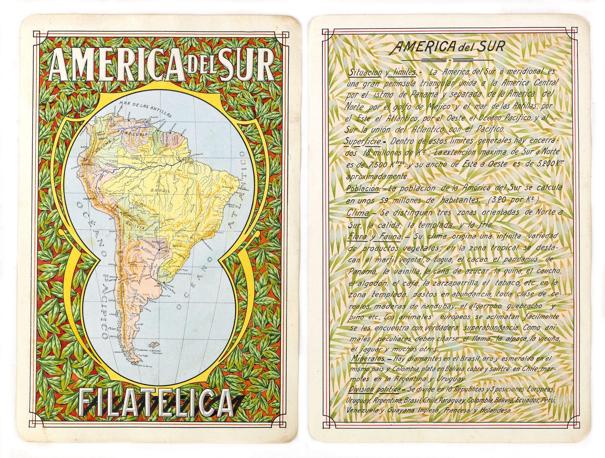 RAGGIO, Antonio F. -  America del Sur Filatelica.