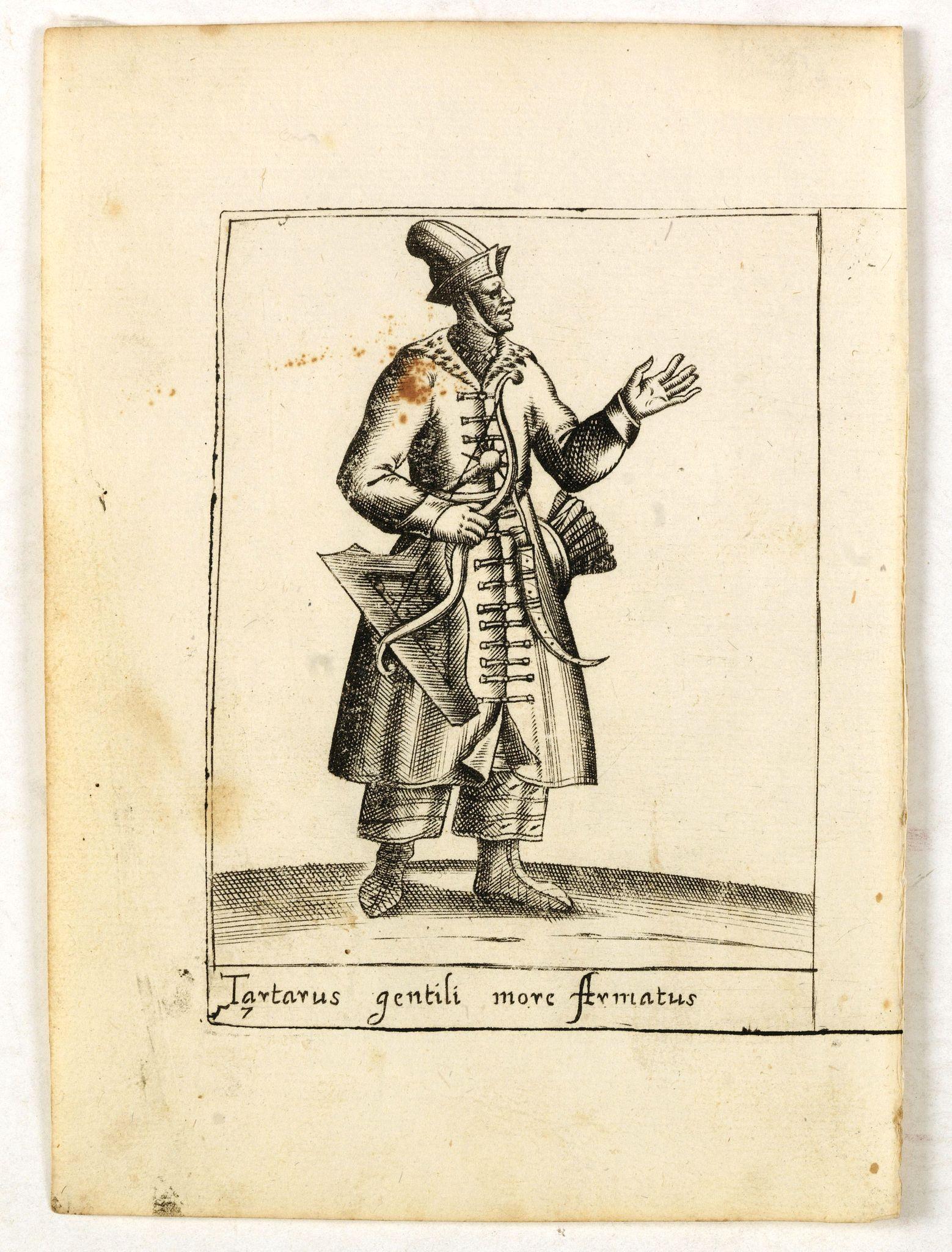 BERTELLI, P. -  Tartarus gentili more Armatus.