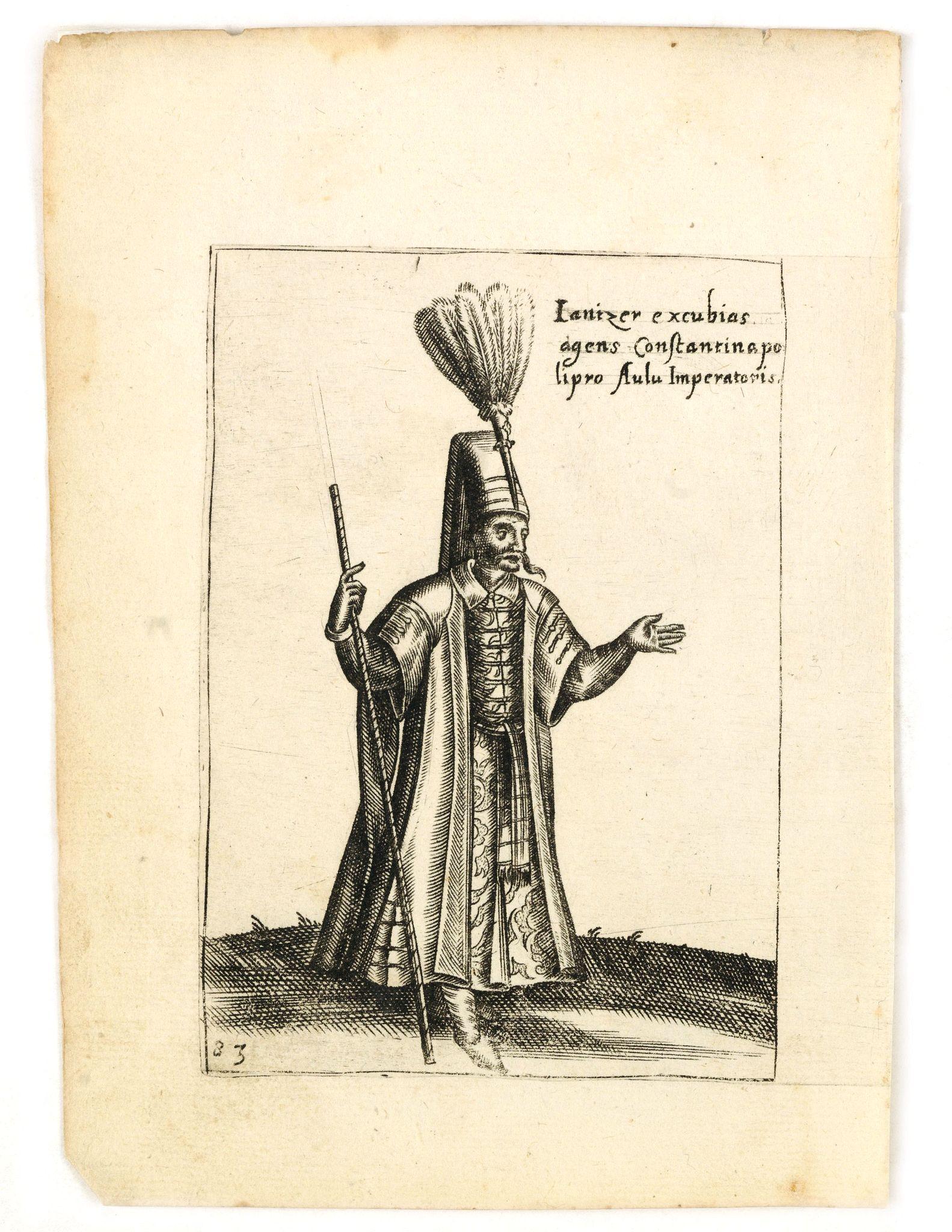 BERTELLI, P. -  Ianizer excubias agens constantinapo lipro Aulu Imperatoris.