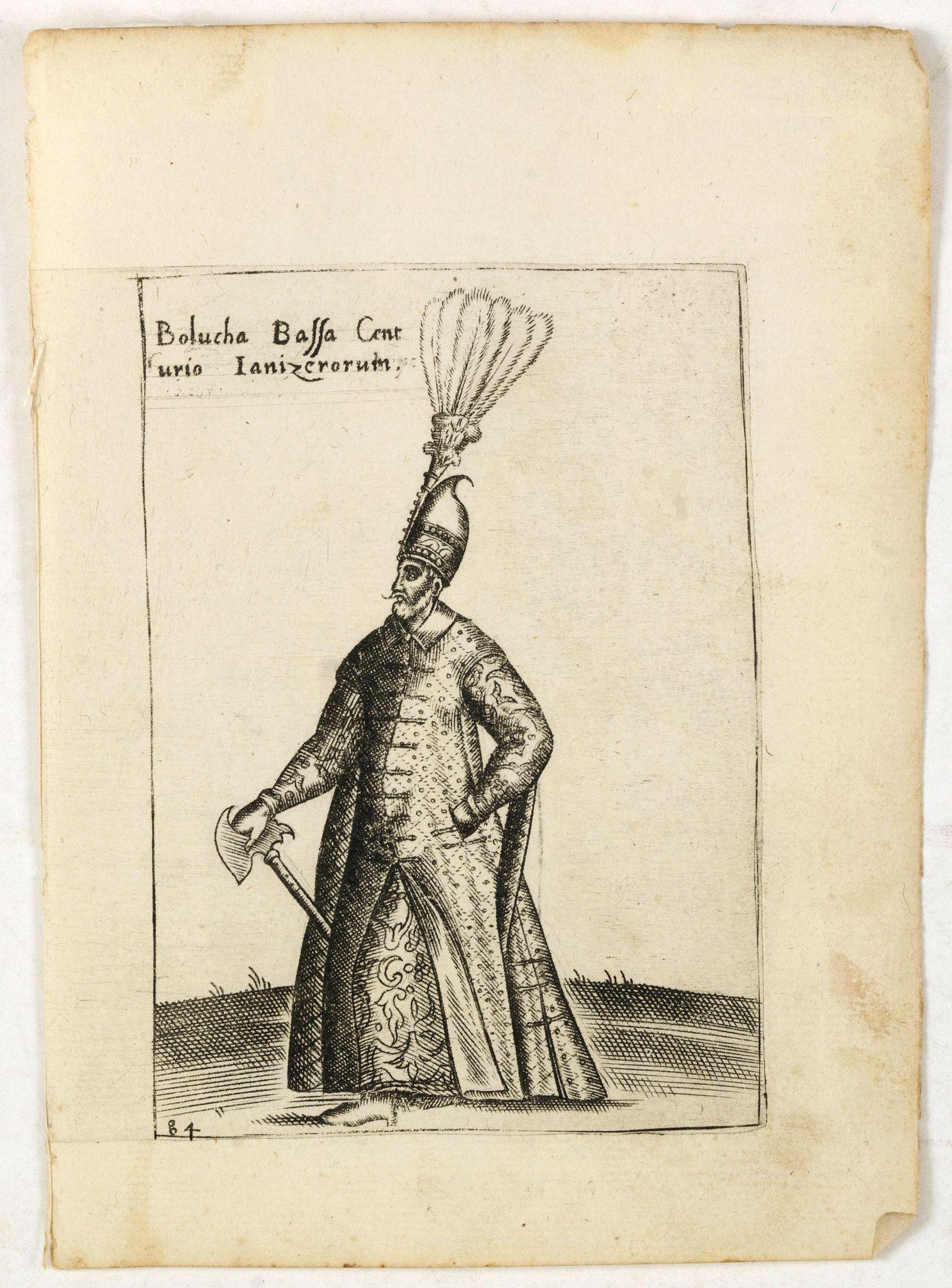 BERTELLI, P. -  Bolucha Bassa Centurio Ianizerorum.