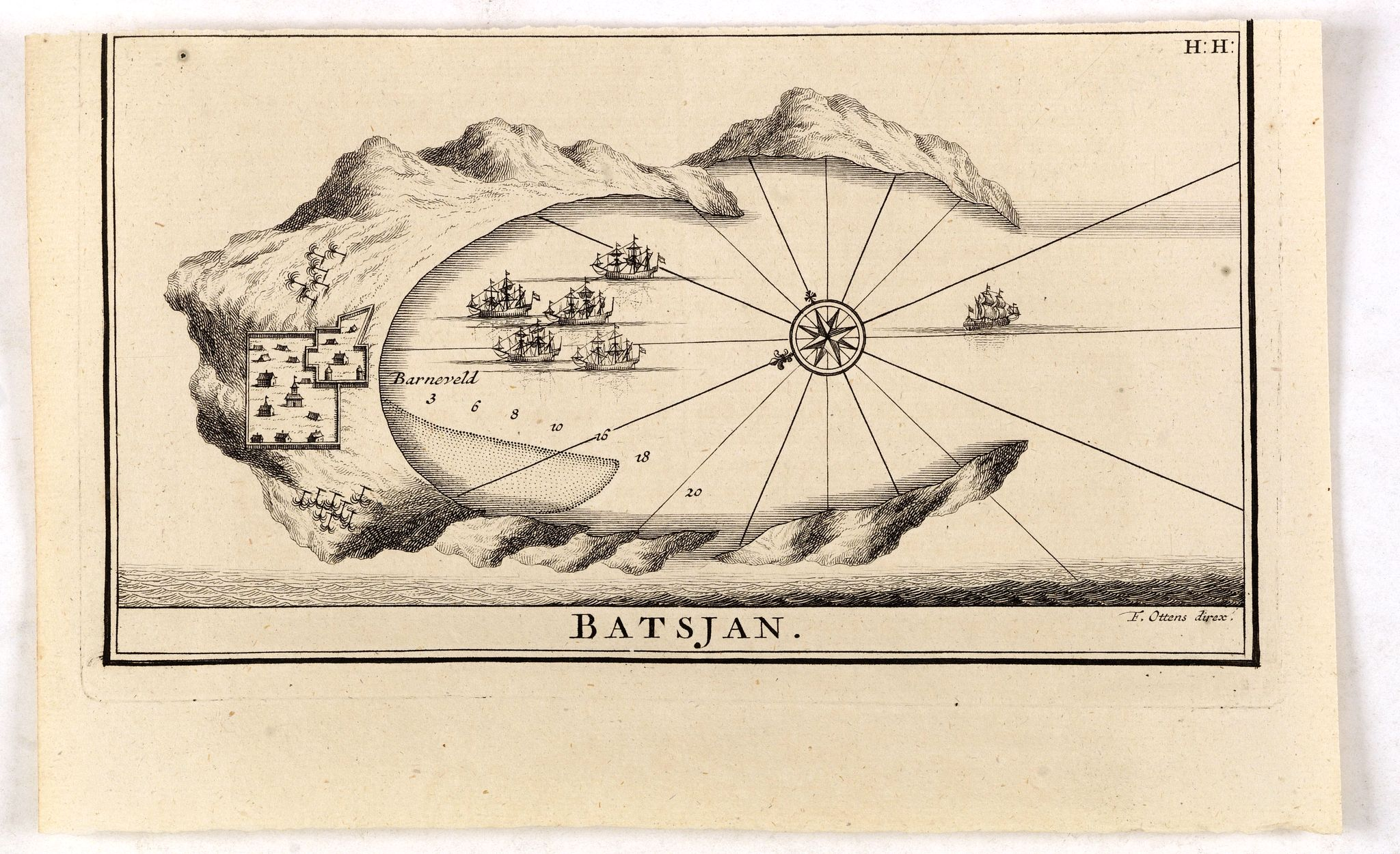 VALENTIJN, F. -  Batsjan. (Bacan)