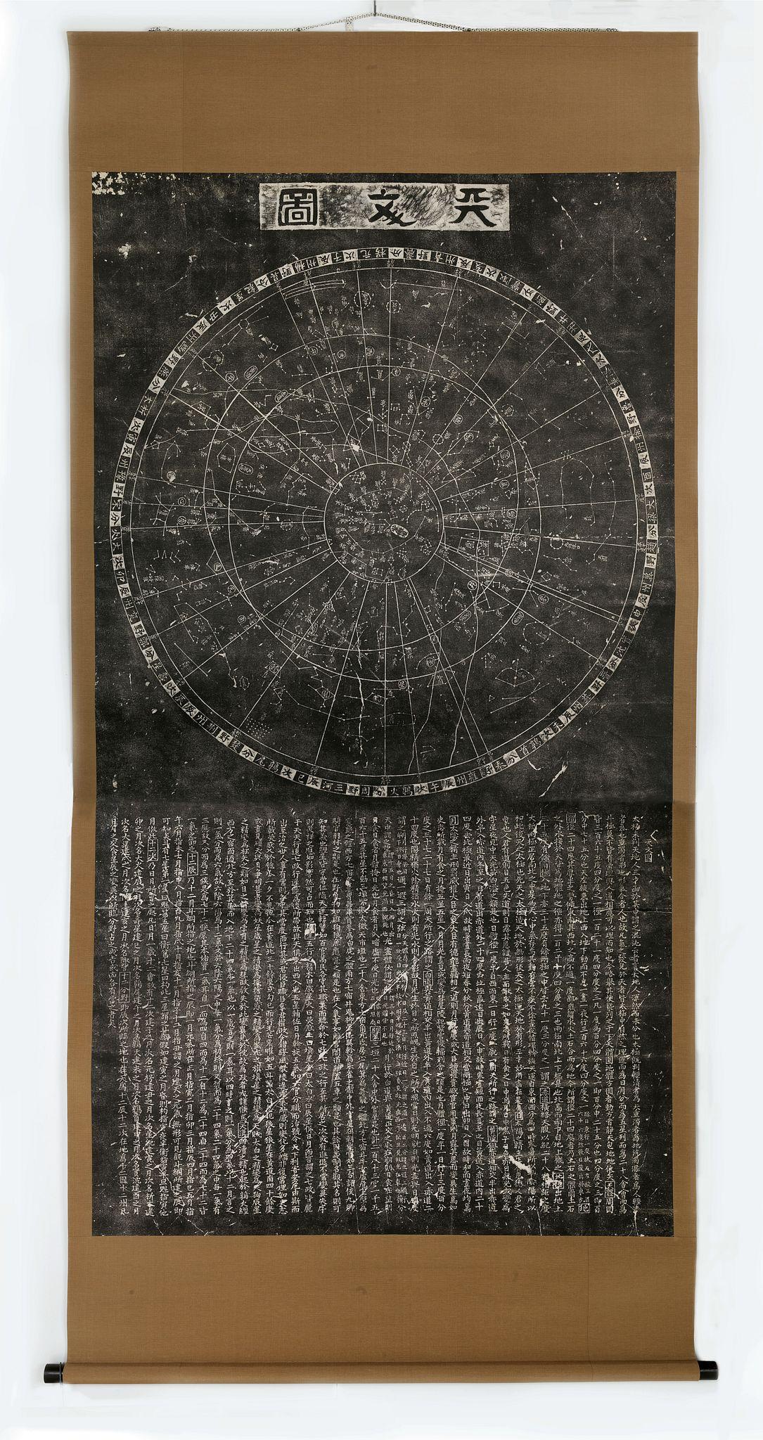 [Wang Zhiyuan after Huang Shang] - T'ien wên t'u [A Map of the Stars]