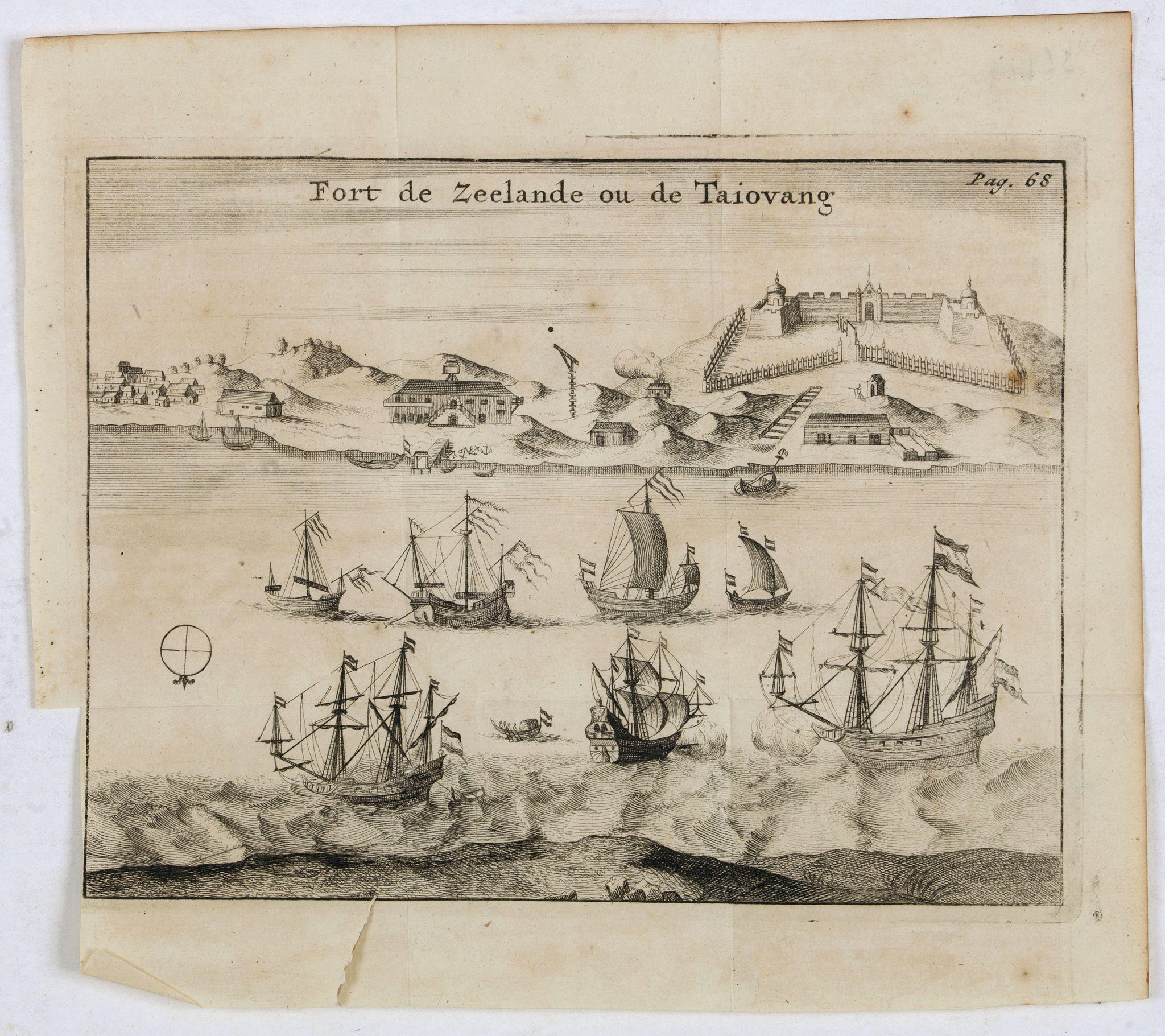 DE RENNEVILLE, R.A.C. -  Fort de Zeelande ou de Taiovang.