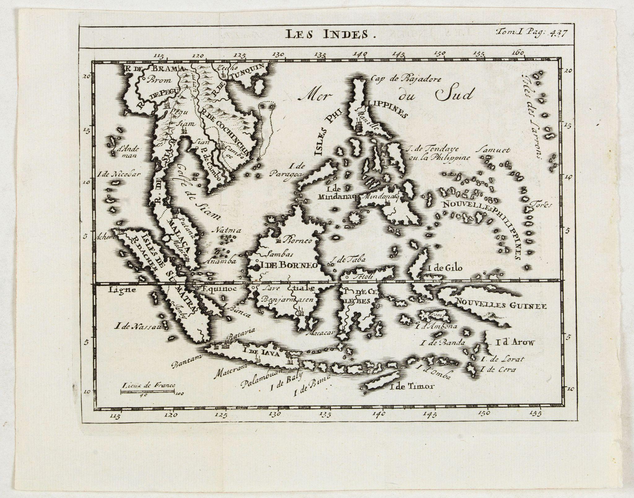 DELISLE, G. after -  Les Indes.