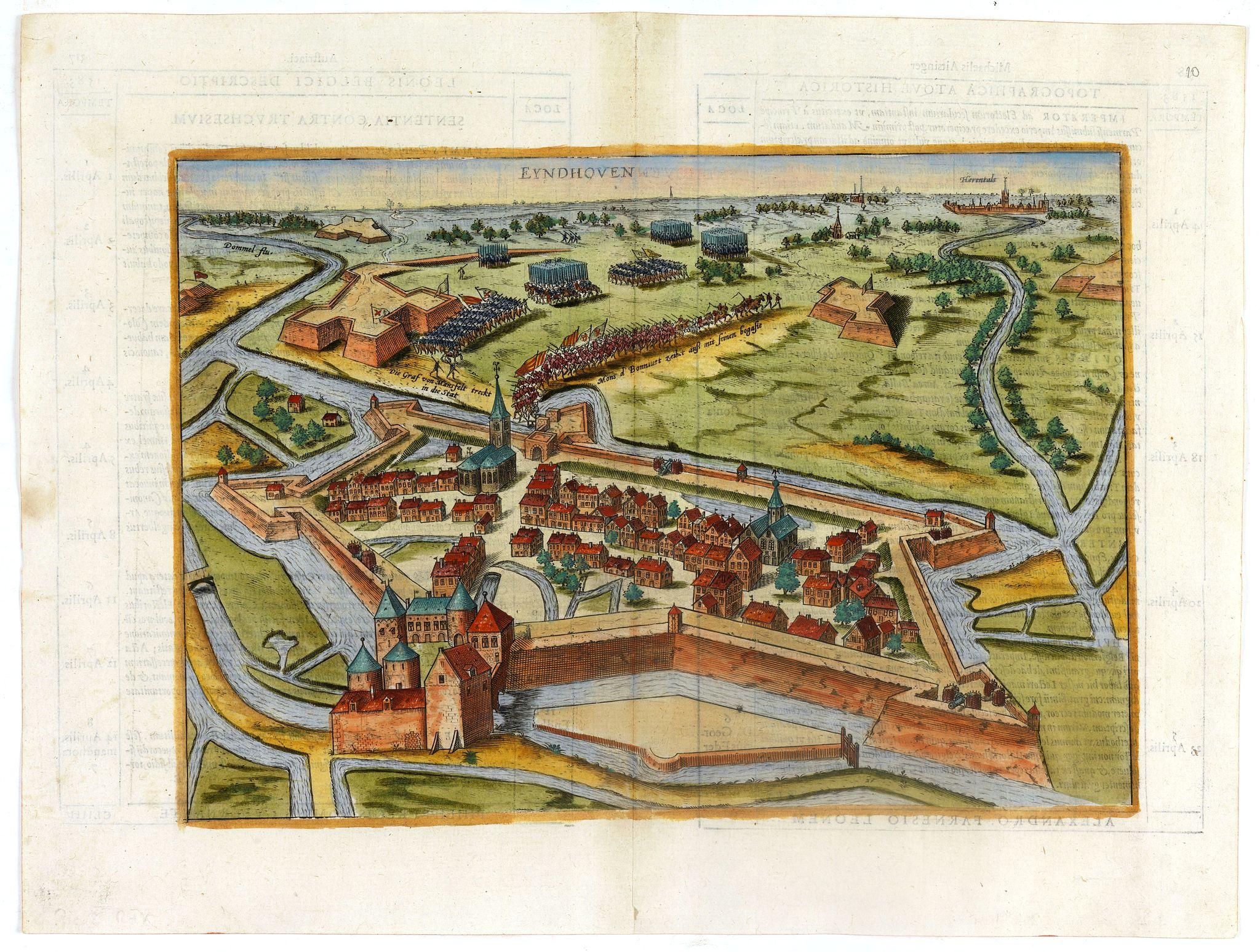 HOGENBERG, F. / EYTZINGER -  EYNDHOVEN - Nach dem Eindhoven mitt kriegs macht. . . .