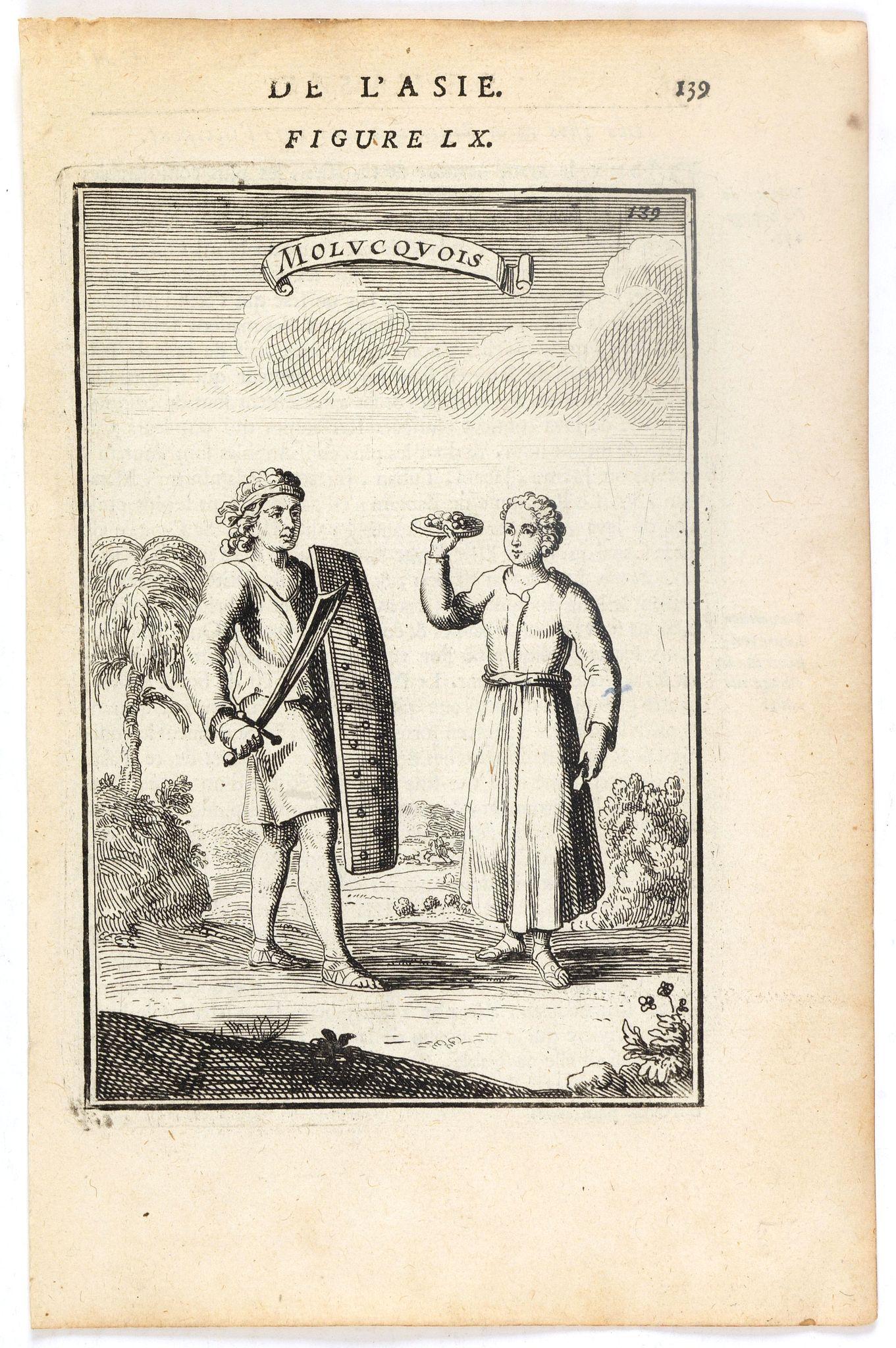 MALLET, A.M. -  Molucquois (De L'Asie / figure LX).