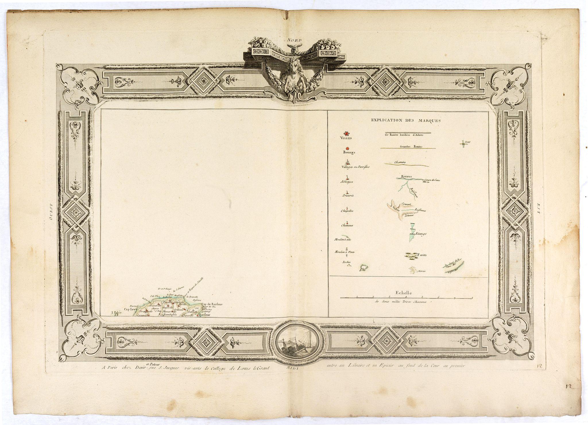 DENIS -  (Tableau d'explication des marques, p12)