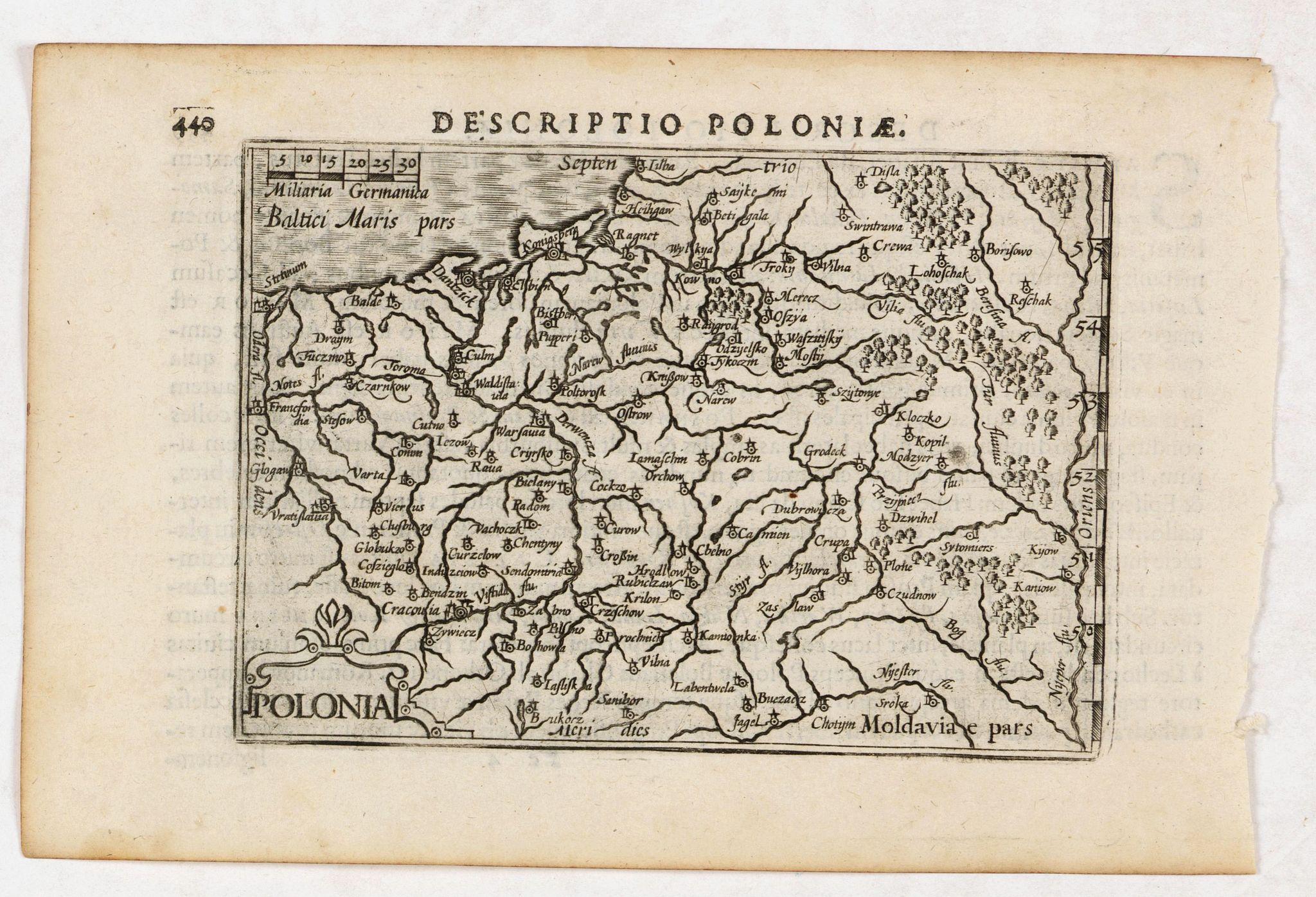 LANGENES, B. / BERTIUS, P. -  Descriptio Poloniae / Polonia.