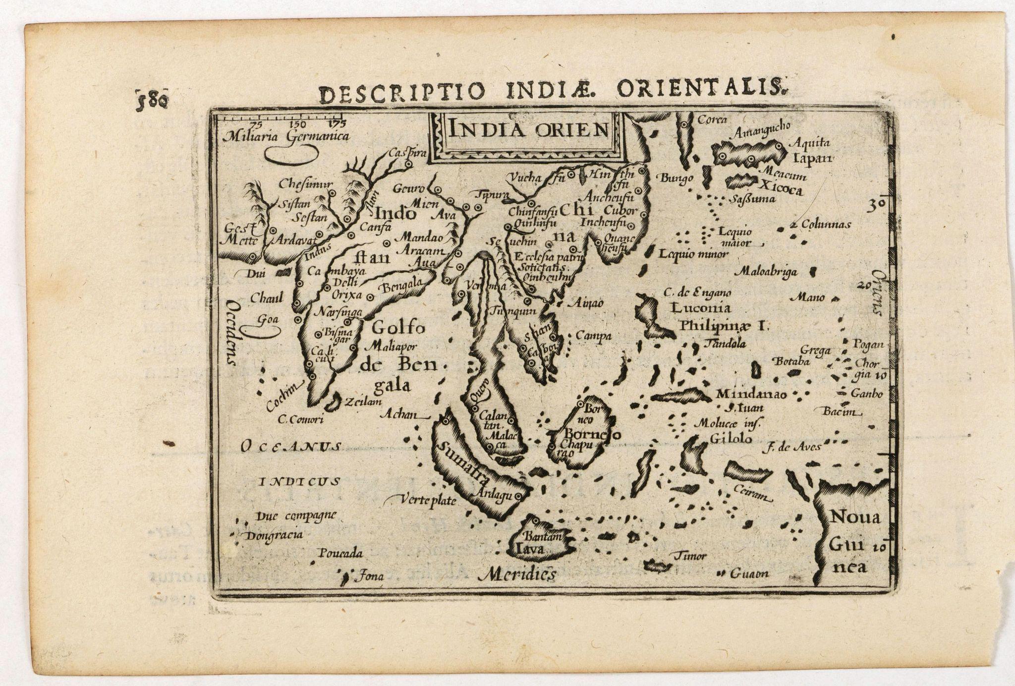 LANGENES, B. -  India Orien.
