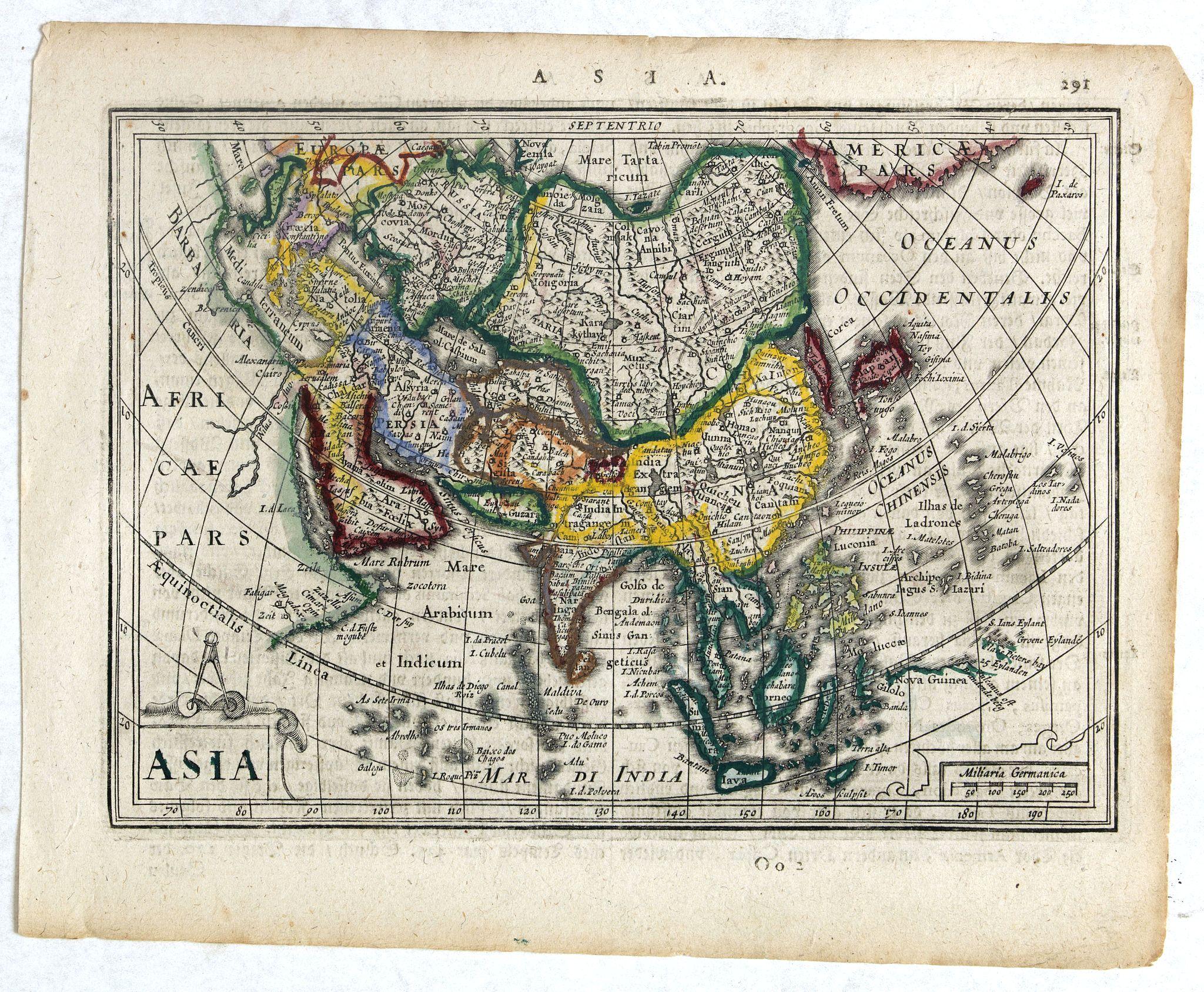 MERCATOR, G. / HONDIUS, H. -  Asia.