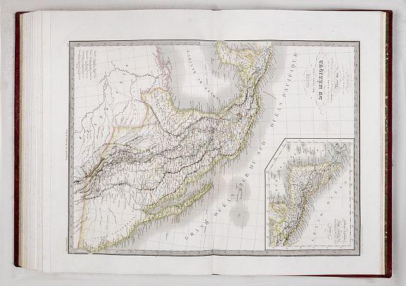 LAPIE, A.E. -  Atlas universel de geographie ancienne et moderne, precede d'un abrege de geographie physique et historique. Par M. Lapie ... et M. Lapie fils. Dedie au Roi.