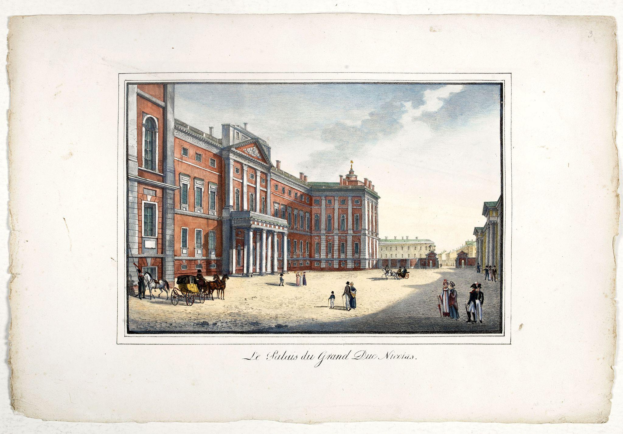 PLUCHART, A. -  Le palais du Grand Duc Nicolas.