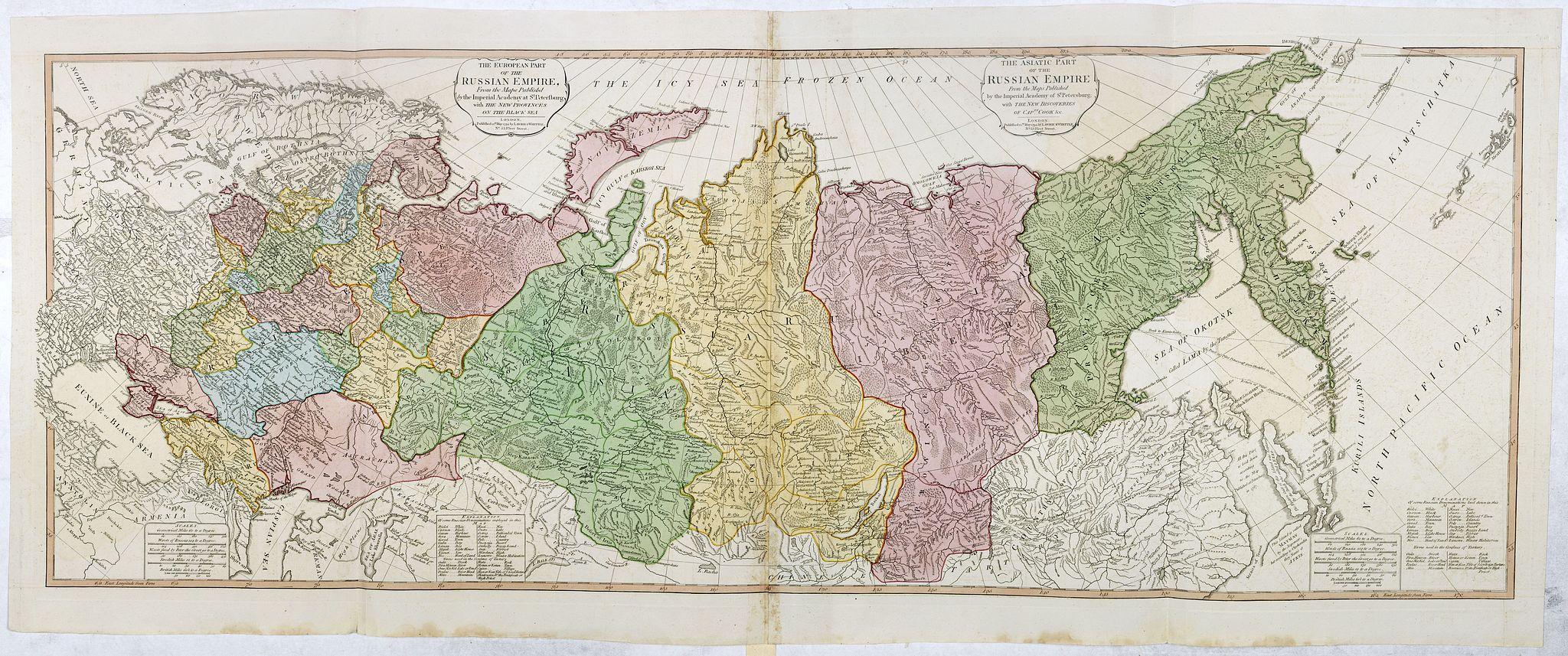 FADEN, W. -  The European Part of the Russian Empire . . .