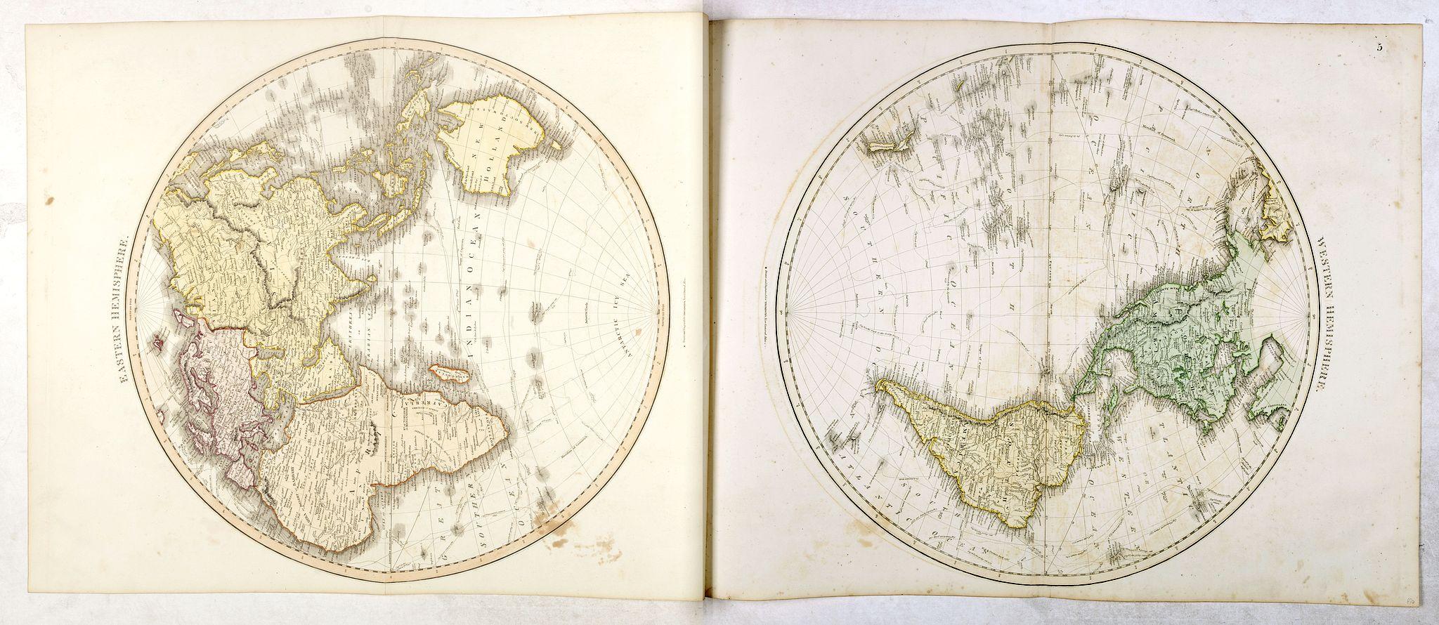 THOMSON, J. - Eastern Hemisphere / Western Hemisphere.