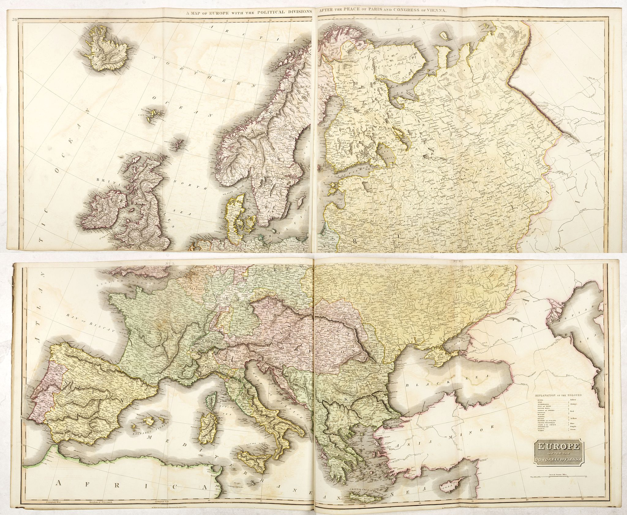 THOMSON, J. - Europe after the Congress of Vienna.