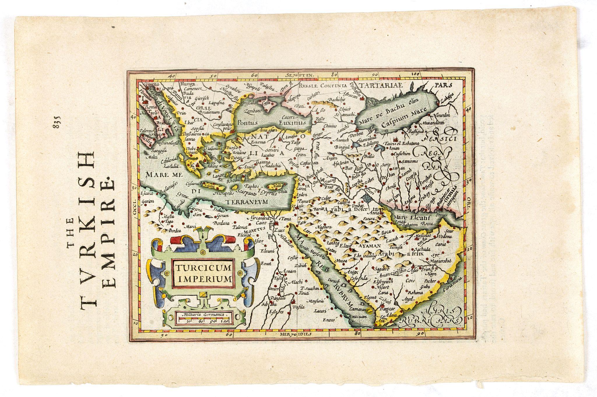 MERCATOR, G . / HONDIUS, J. -  Turcicum Imperium.