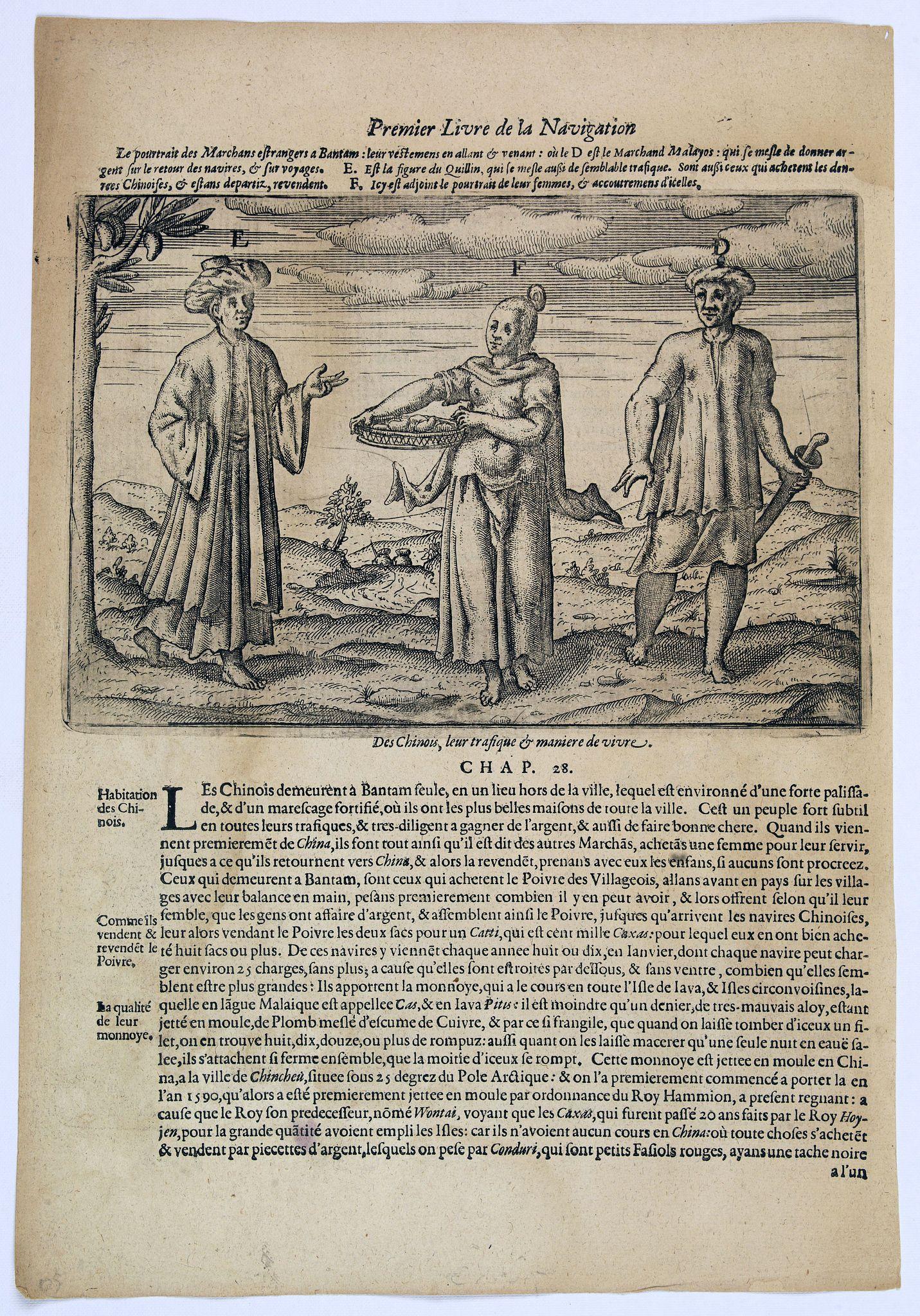 LODEWYCKSZ, Willem -  [Foreign Merchants at Bantam].