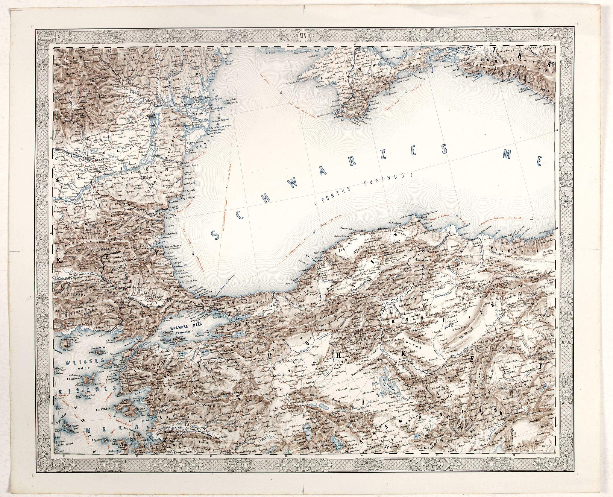 FLEMMING, C. -  [Schwarzes Meer] Nr 1
