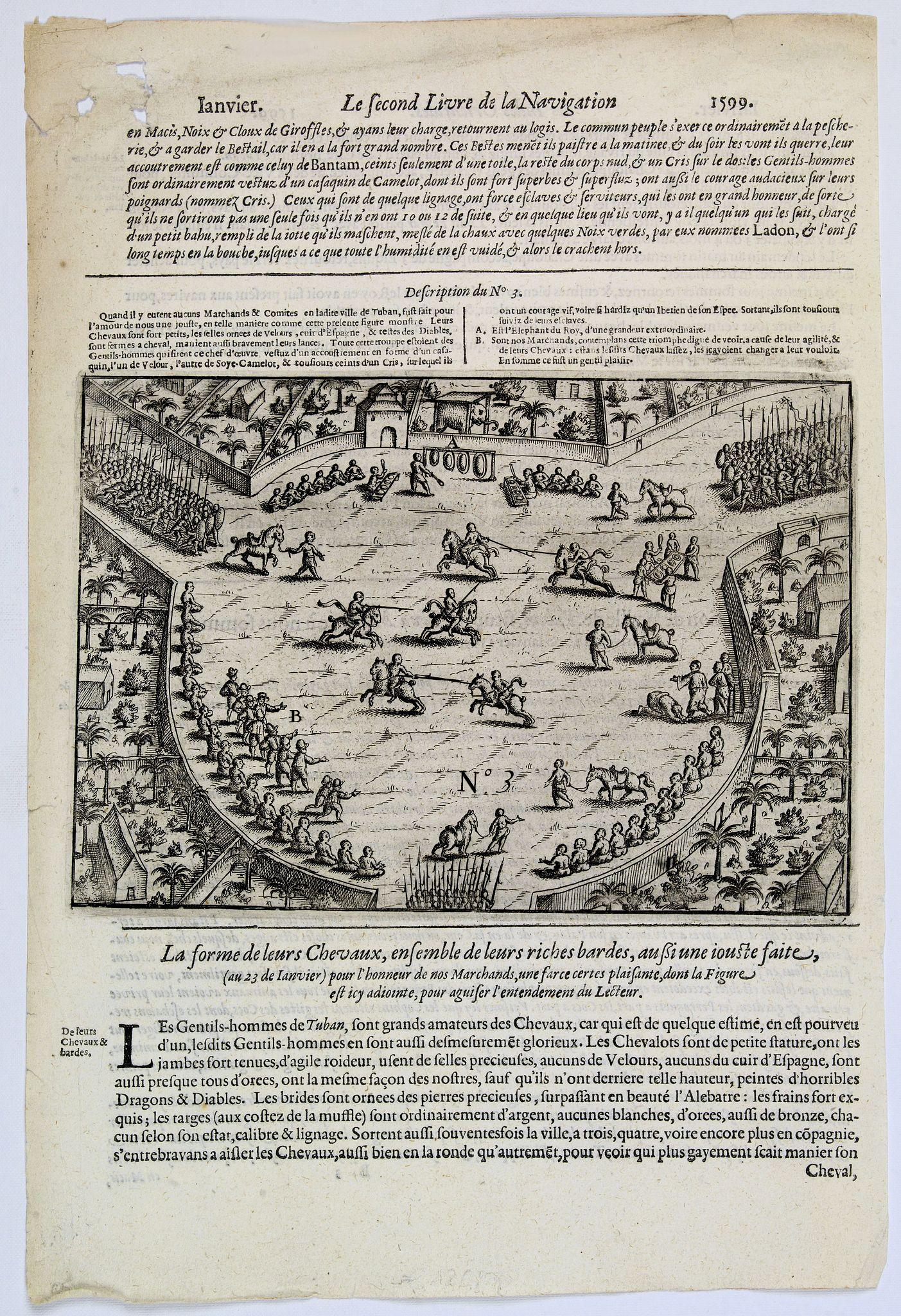 LODEWYCKSZ, Willem -  [Celebrating the arrival of the Dutch in Turban].