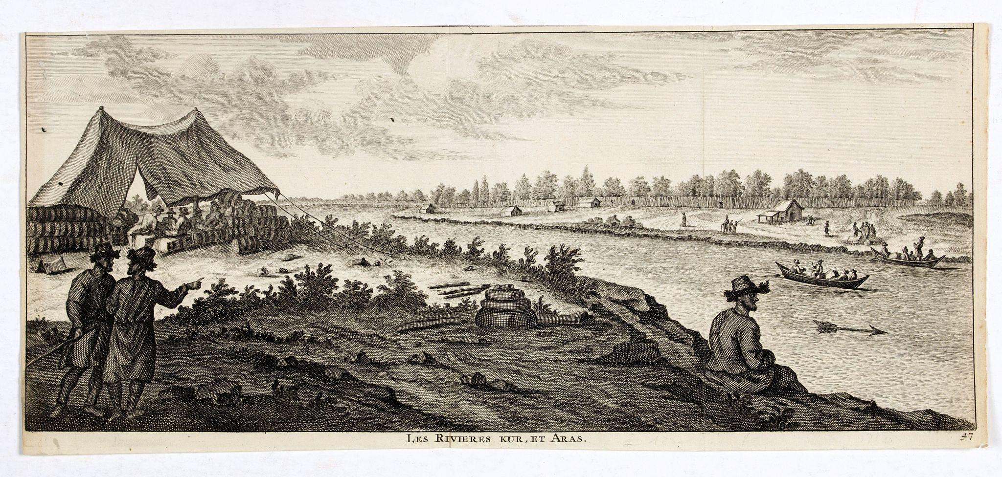 DE BRUYN, C. -  Les Rivieres Kur, et Aras.