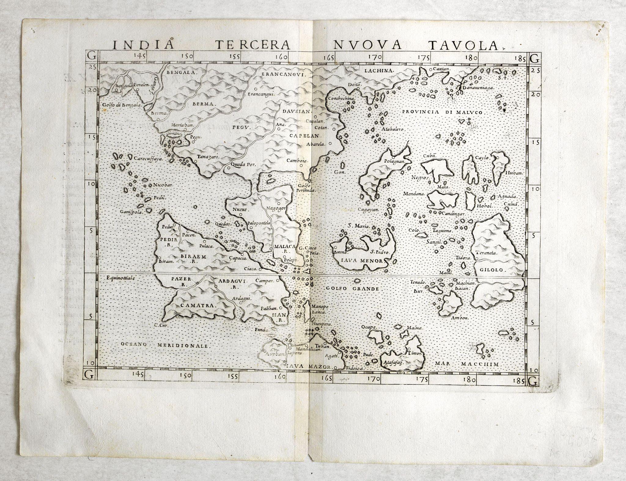 RUSCELLI, G. -  India Tercera Nuova Tavola.