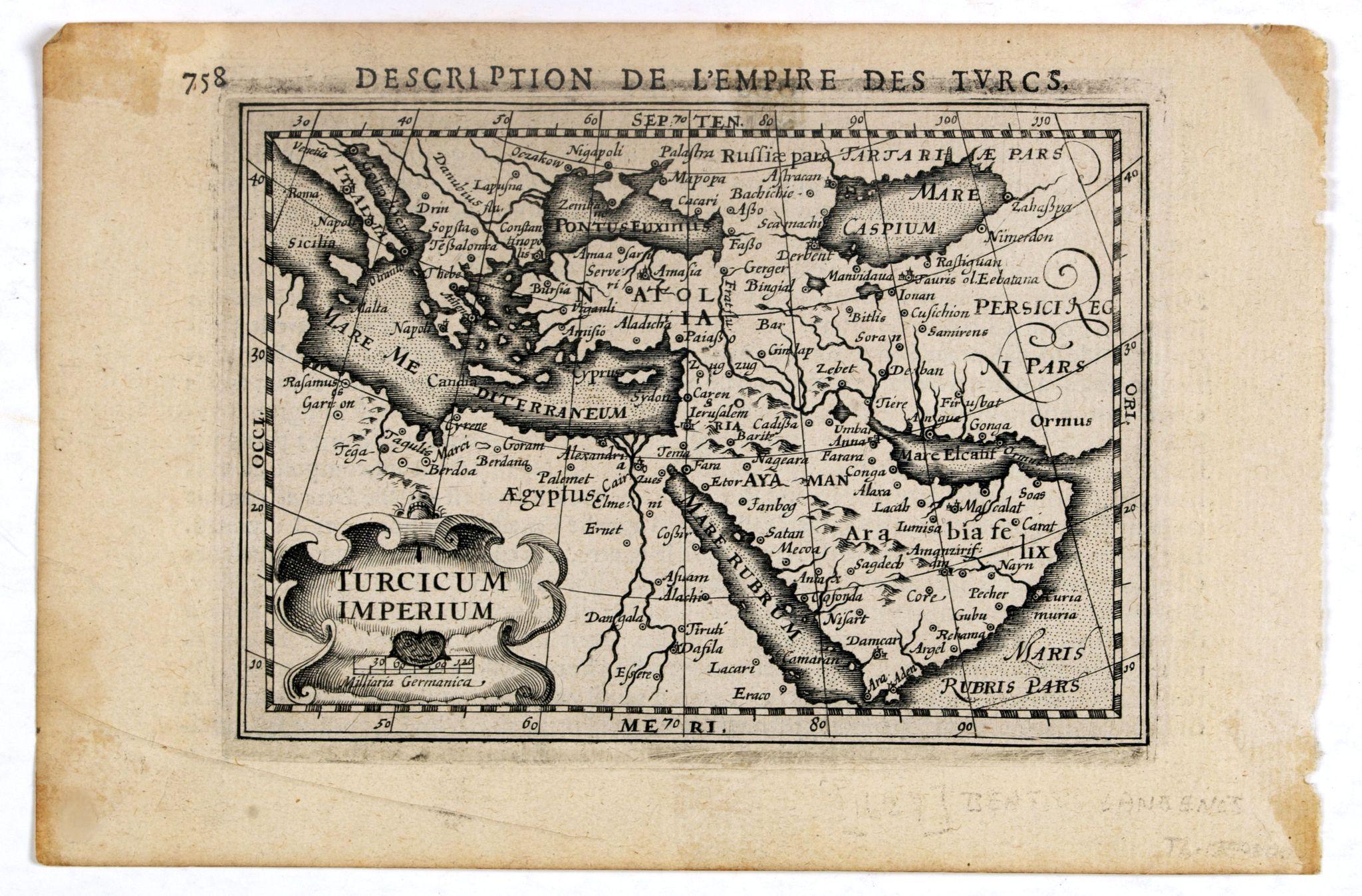BERTIUS, P. / HONDIUS, J. II -  Turcicum Imperium.