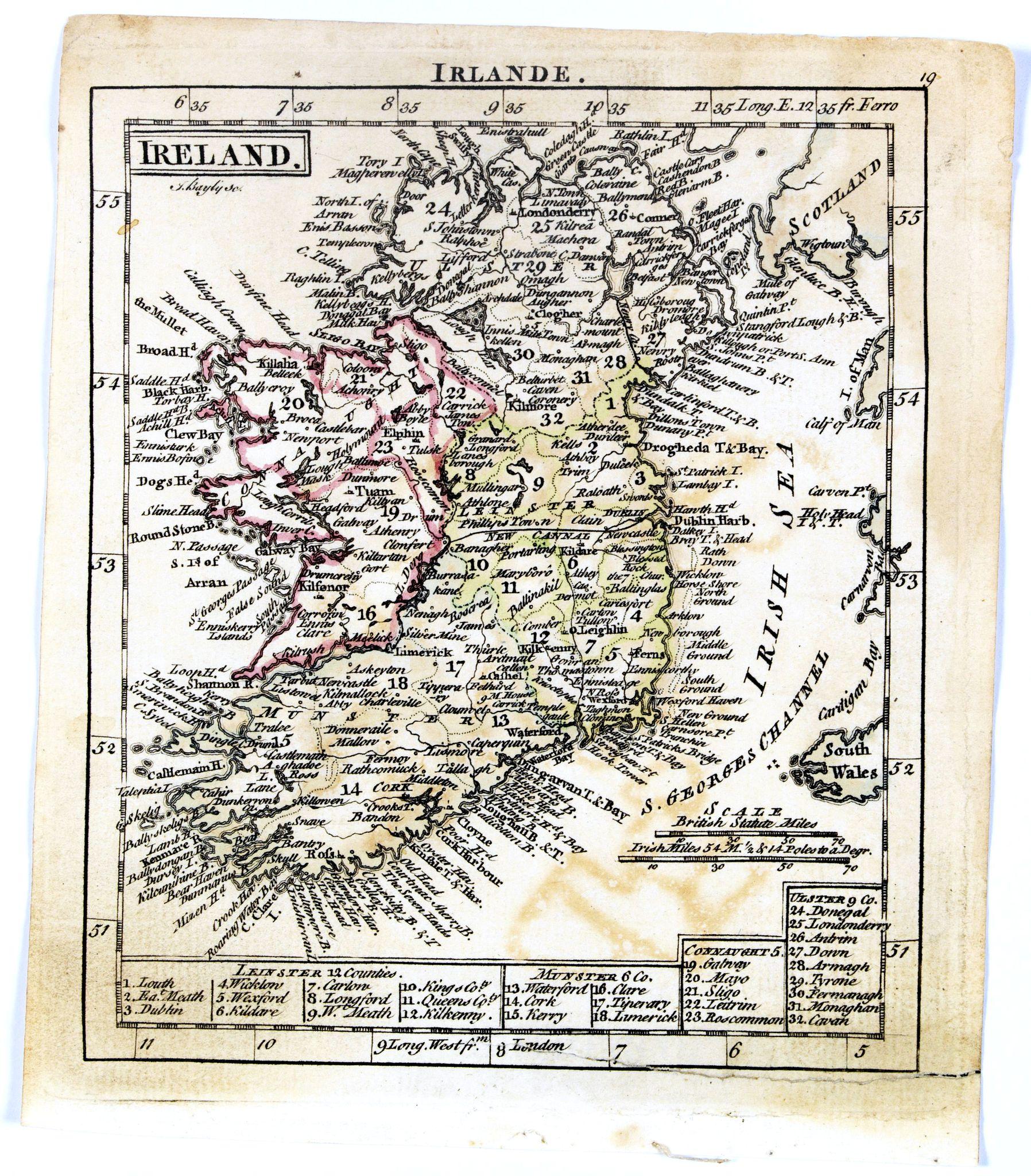 DURY, A. / SAYER, R. / KITCHIN, T. -  Ireland.