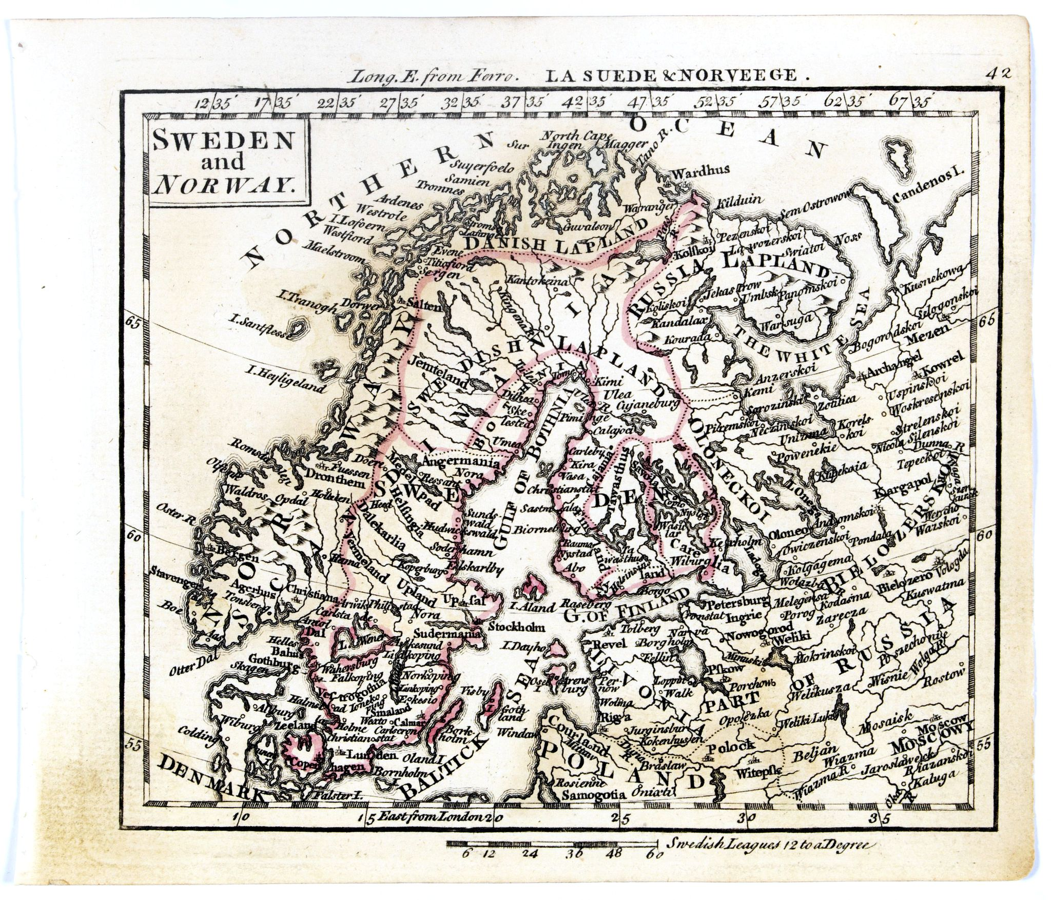 DURY, A. / SAYER, R. / KITCHIN, T. -  Sweden and Norway.